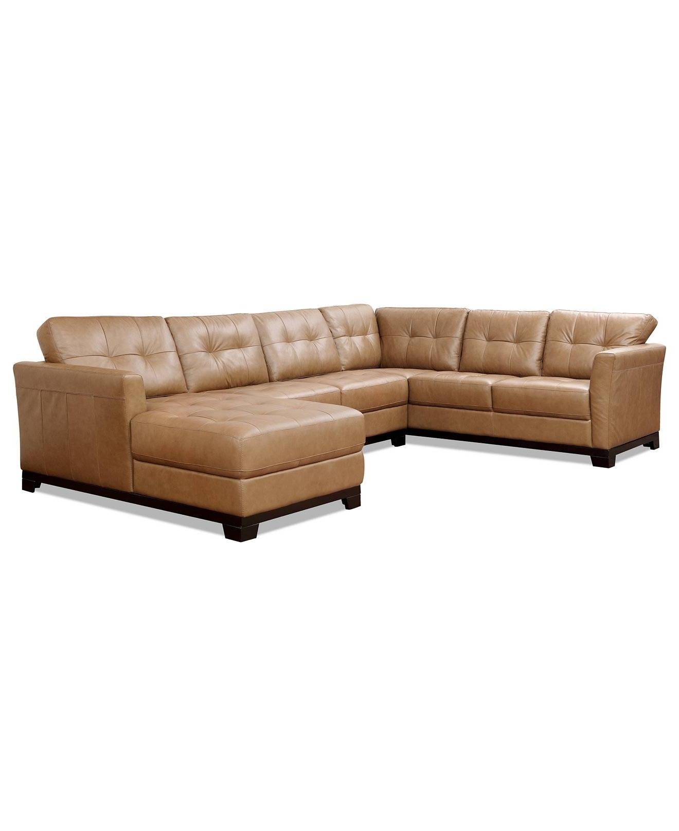 Macys Leather Sofas Regarding Recent Leather Sectional Sofa Macys • Leather Sofa (View 12 of 20)