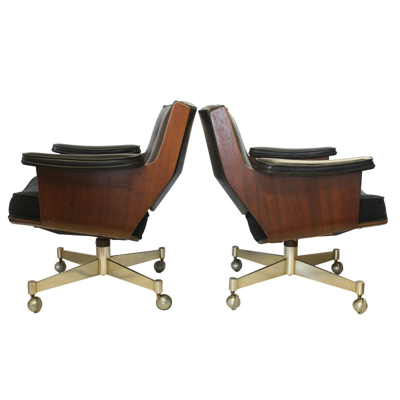 Madison Executive Office Chairs For Latest Executive Swivel Desk Chairsthonet For Sale At 1Stdibs (View 6 of 20)
