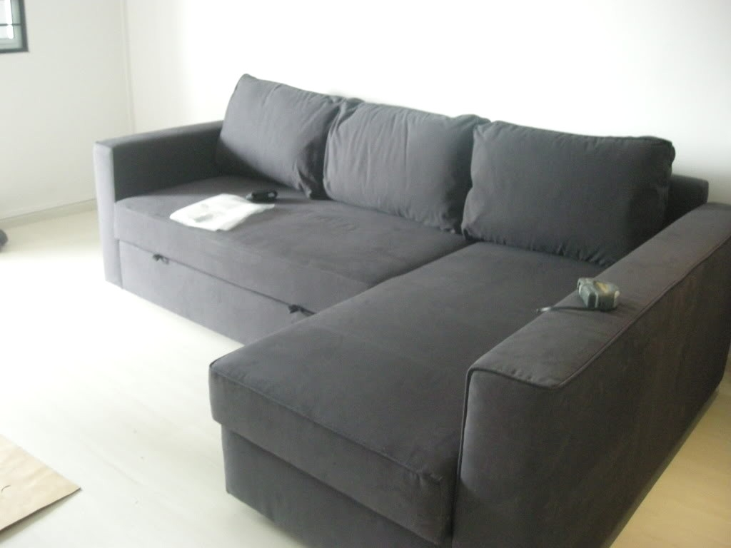 Manstad Sofas Within Newest Ikea Manstad Cover Avec Manstad Sofa Bed With Storage From Ikea La (View 4 of 20)