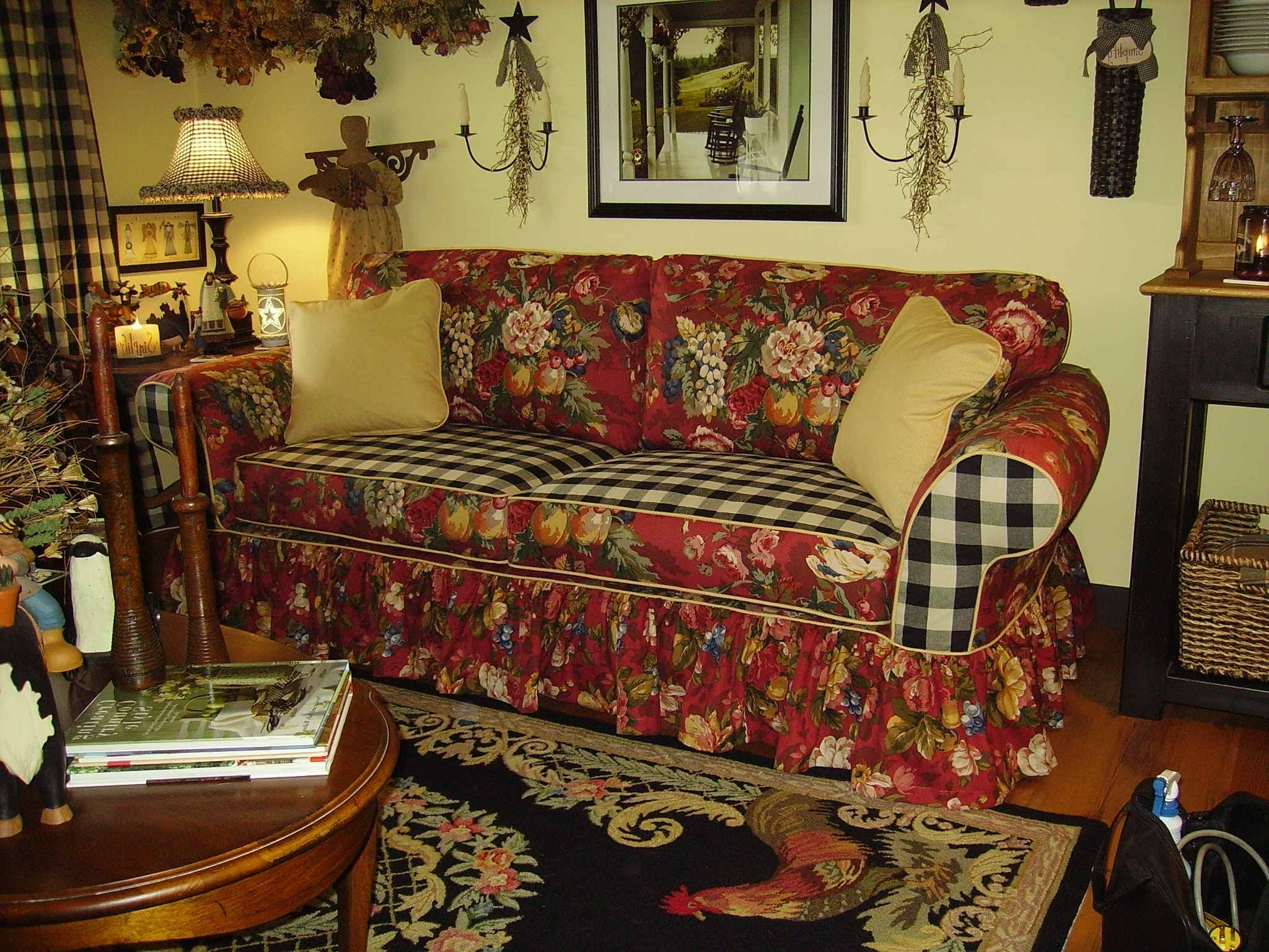 Marge's Custom Slipcovers Throughout Country Sofas And Chairs (View 14 of 20)