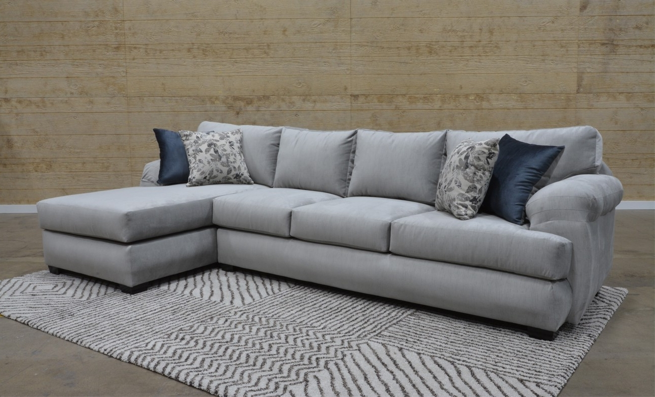 Mariana Grey 2 Piece Sectional Sofa For $1, (View 12 of 20)