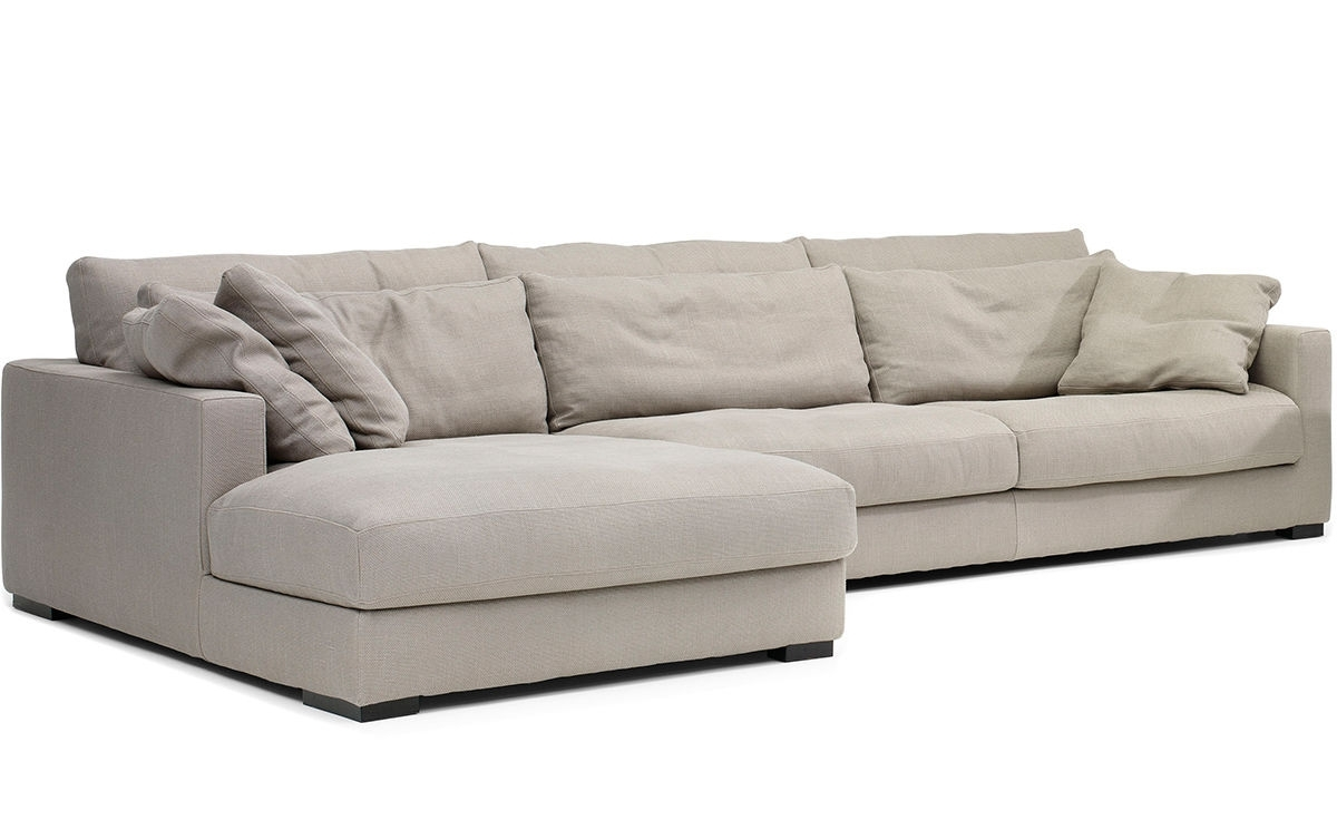 Mauro Sectional Sofa – Hivemodern Regarding Fashionable Down Feather Sectional Sofas (View 3 of 20)
