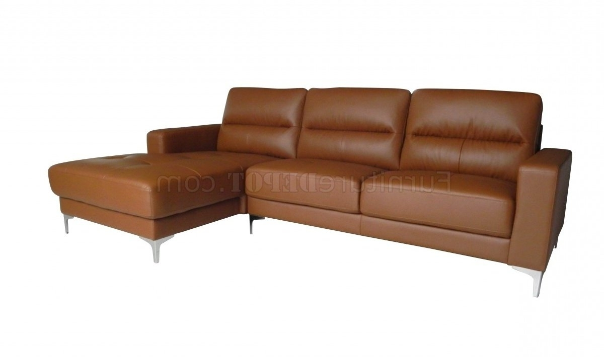 Memphis Sectional Sofas Intended For Newest Memphis Sectional Sofa In Tan Bonded Leatherwhiteline (View 7 of 20)