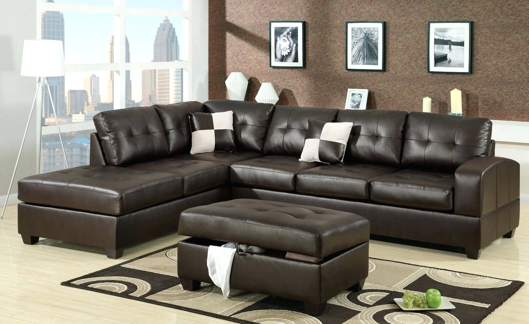 Memphis Tn Sectional Sofas With Best And Newest Leather Sectional Sofas – Stepdesigns (View 11 of 20)
