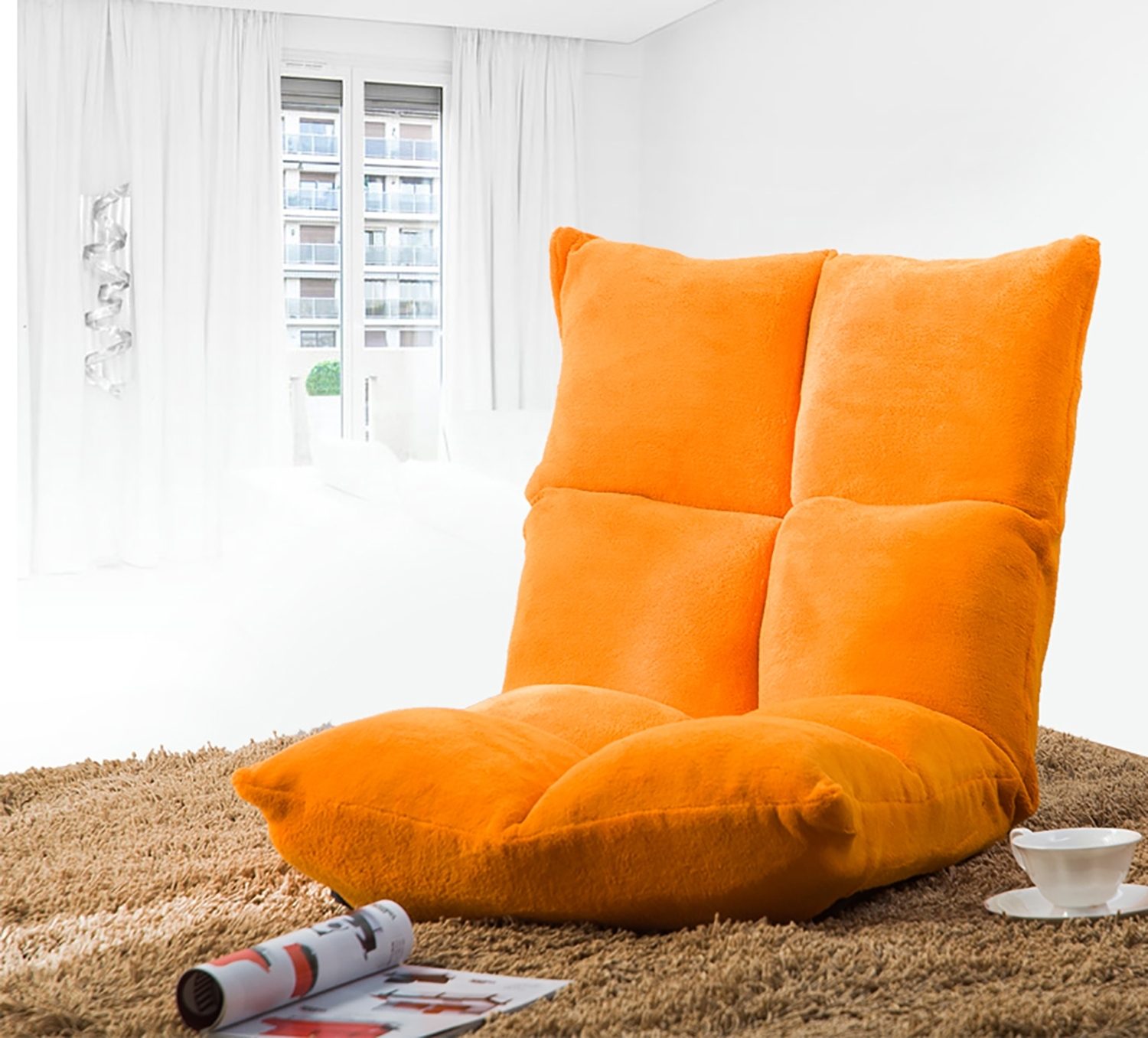 Merax » Wf008059Gaa In Widely Used Lazy Sofa Chairs (View 11 of 20)