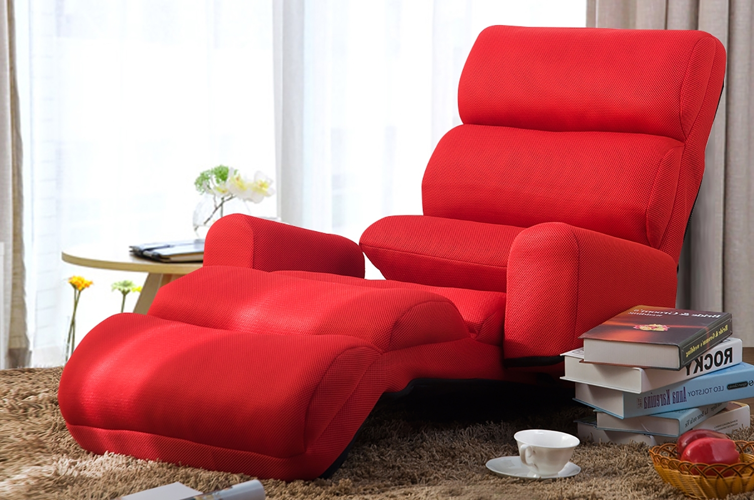 Merax » Wf008061Jaa With Newest Folding Sofa Chairs (View 13 of 20)