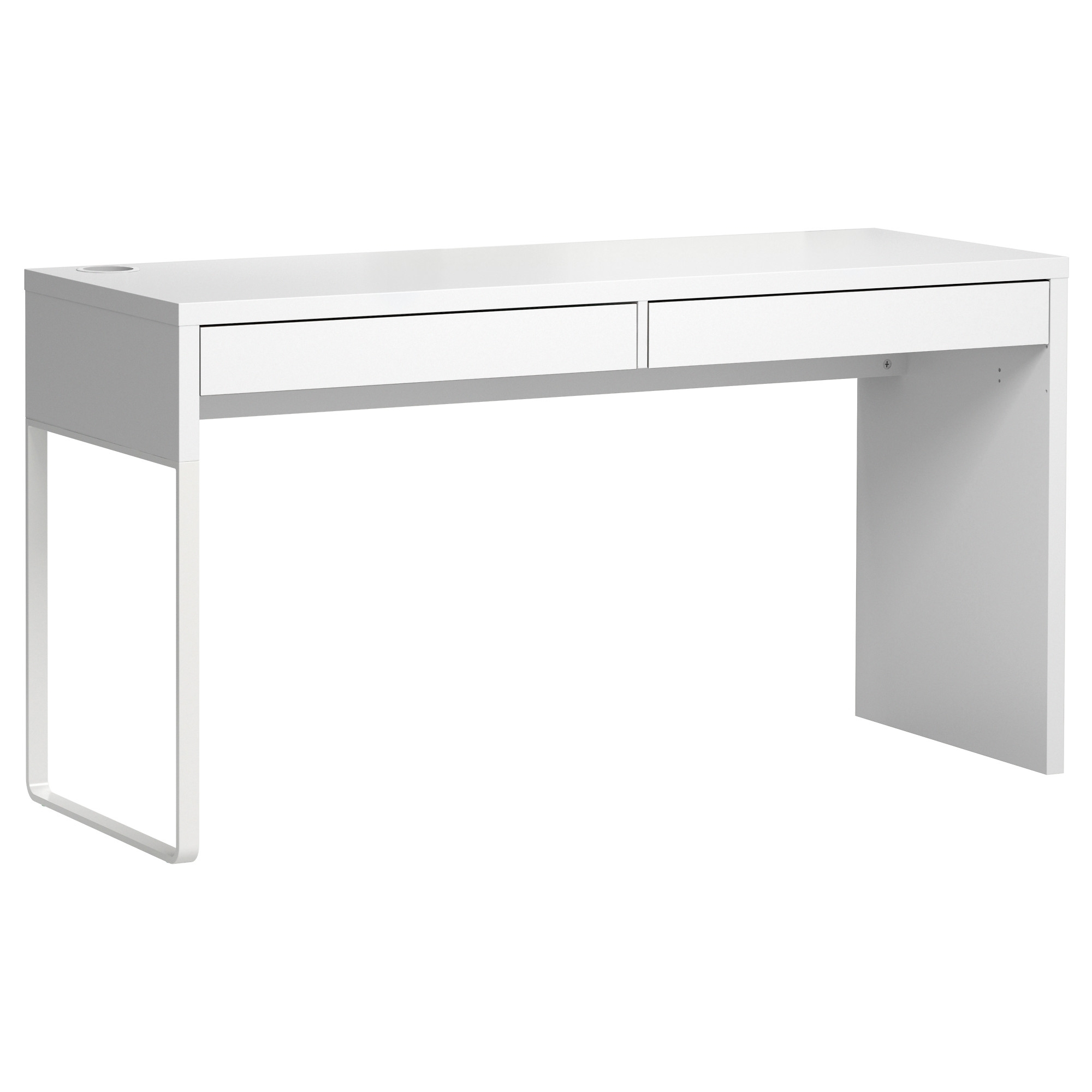 Micke Desk – White – Ikea Pertaining To Most Up To Date White Computer Desks (View 6 of 20)