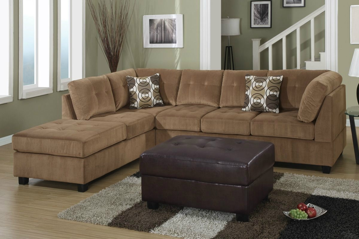 Microfiber Sectional Sofas Throughout Well Known Couch Awesome Microfiber Sectional Couches Hi Res Wallpaper Photos (View 5 of 20)