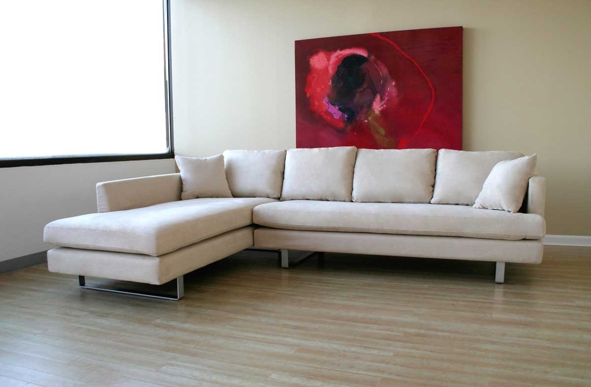 Microsuede Sectional Pertaining To Microsuede Sectional Sofas (View 8 of 20)