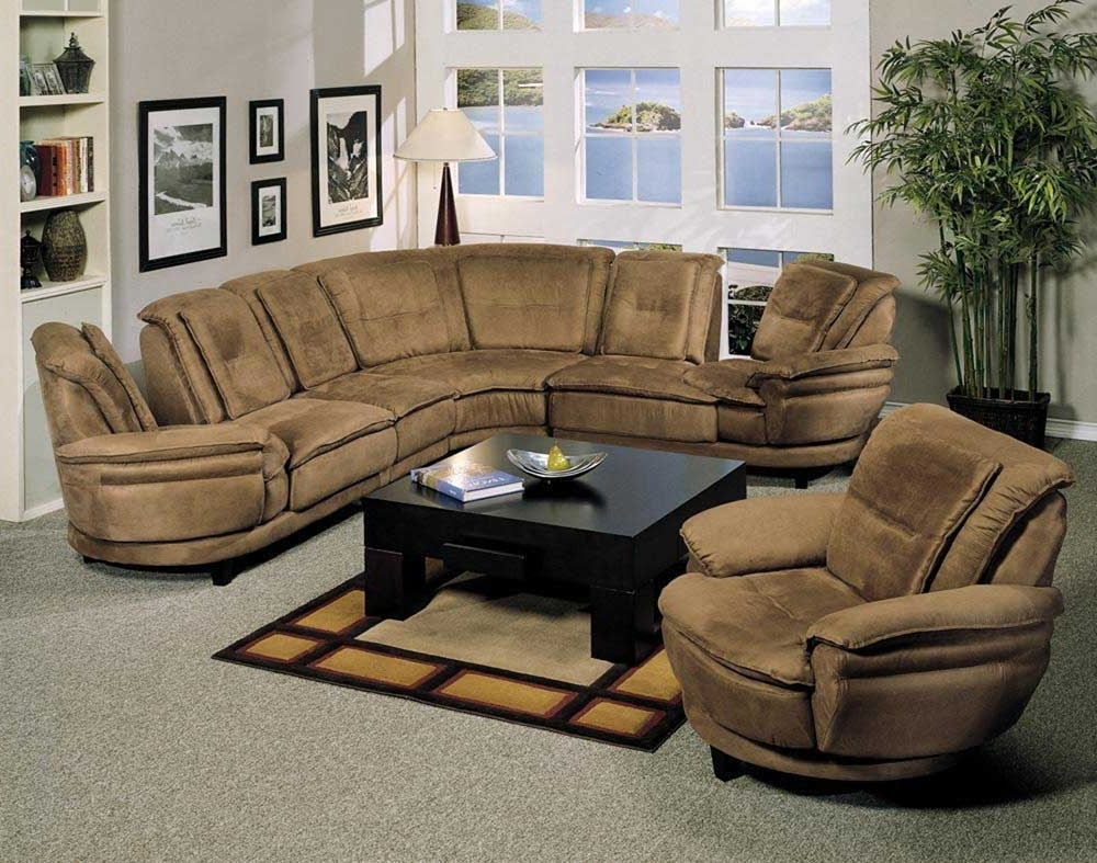 Microsuede Sectional Sofas With Regard To Newest Sofa : Children's Beds For Small Rooms U Shaped Sofas L Shaped (View 12 of 20)