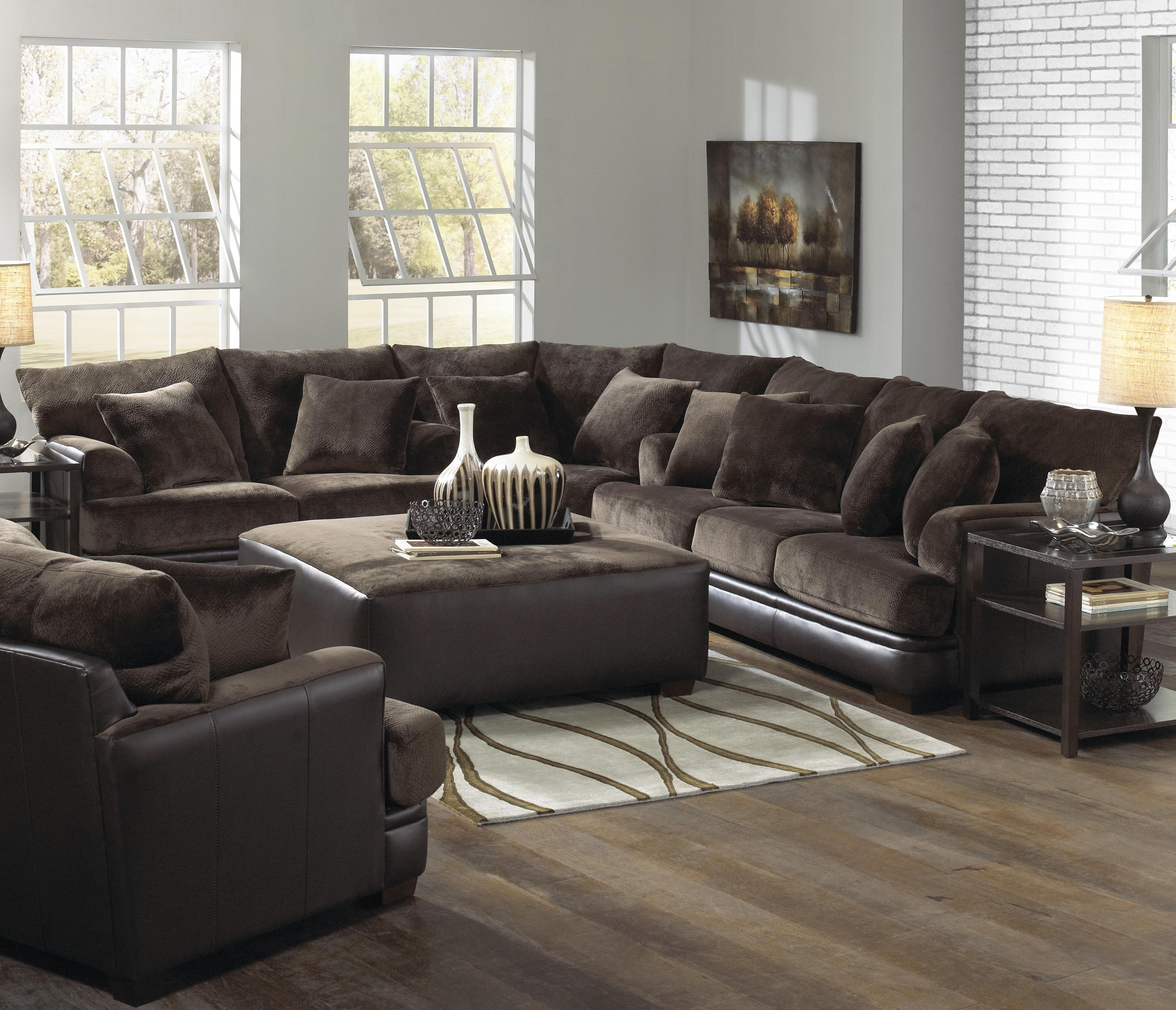 Microsuede Sectional Sofas With Regard To Well Liked L Couch (View 14 of 20)