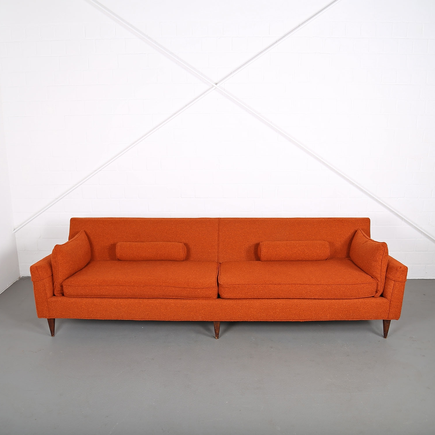 Mid Century Modern Vintage 3 Seater Sofa Usa Dunbar (attr (View 19 of 20)