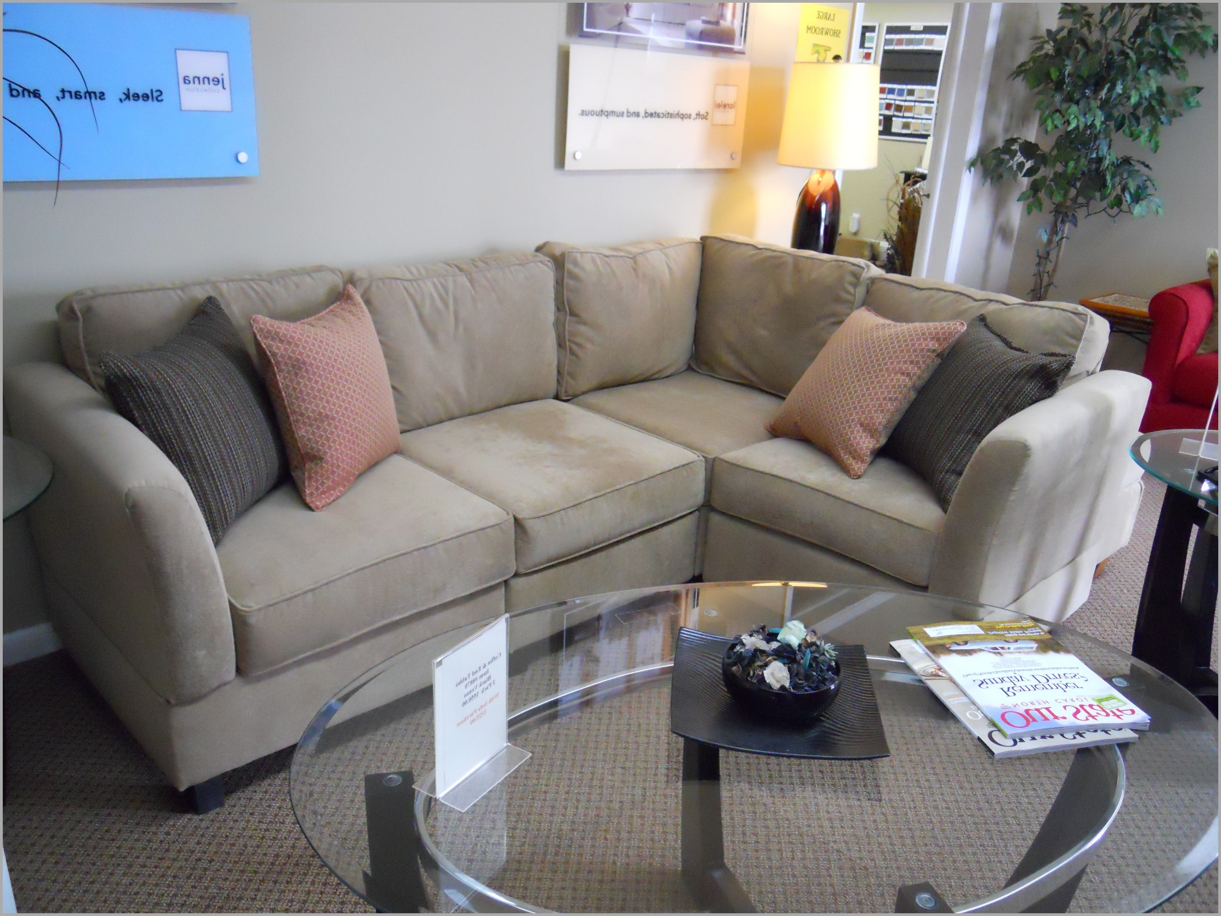 Mini Sectional Sofas With Regard To Most Current Corner Loveseat Small Luxury Leather Sectional Couches For Small (View 4 of 20)