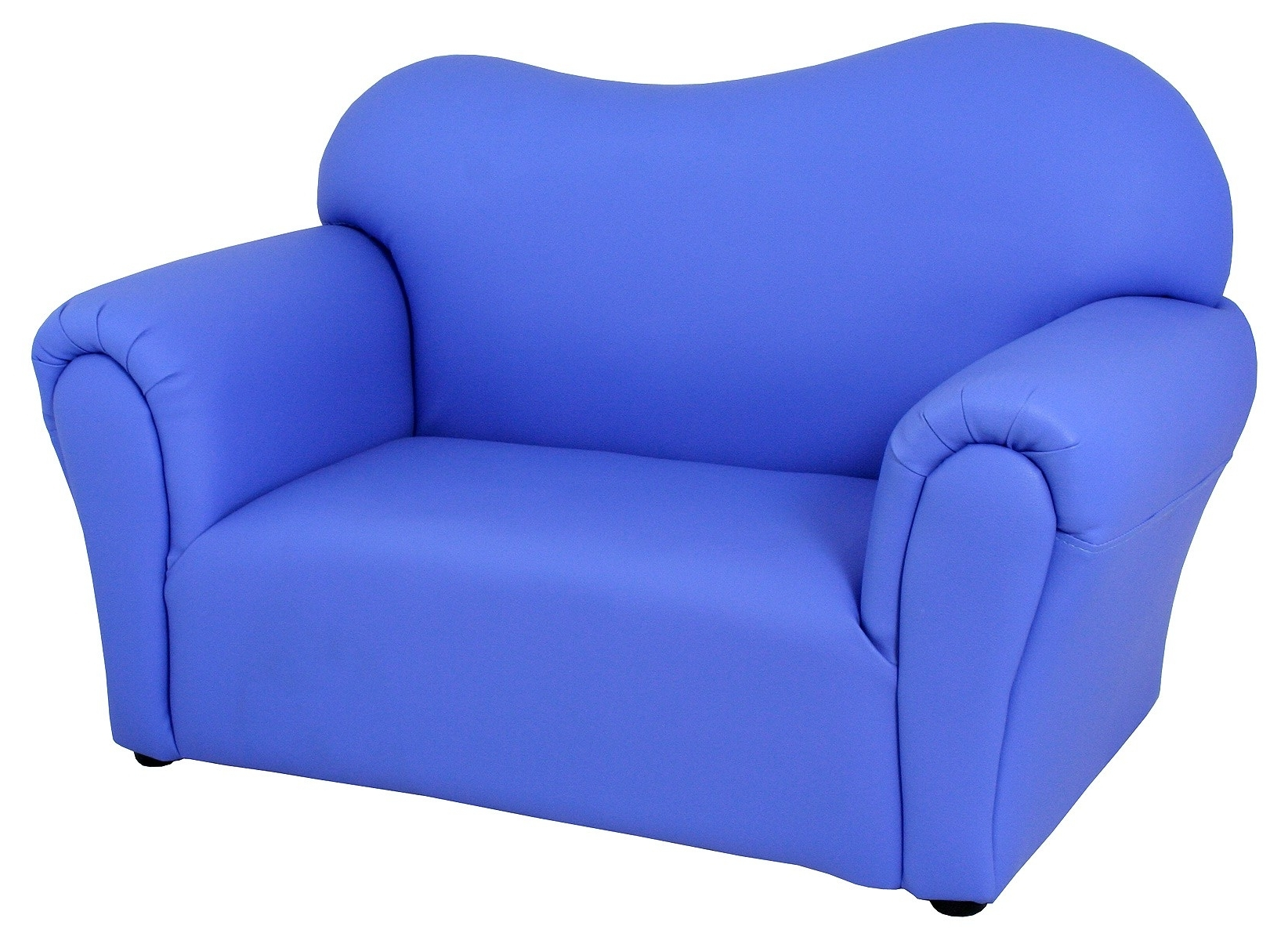 Mini Sofas With Most Popular Childrens Blue Mini Sofa – Be Fabulous! (View 6 of 20)