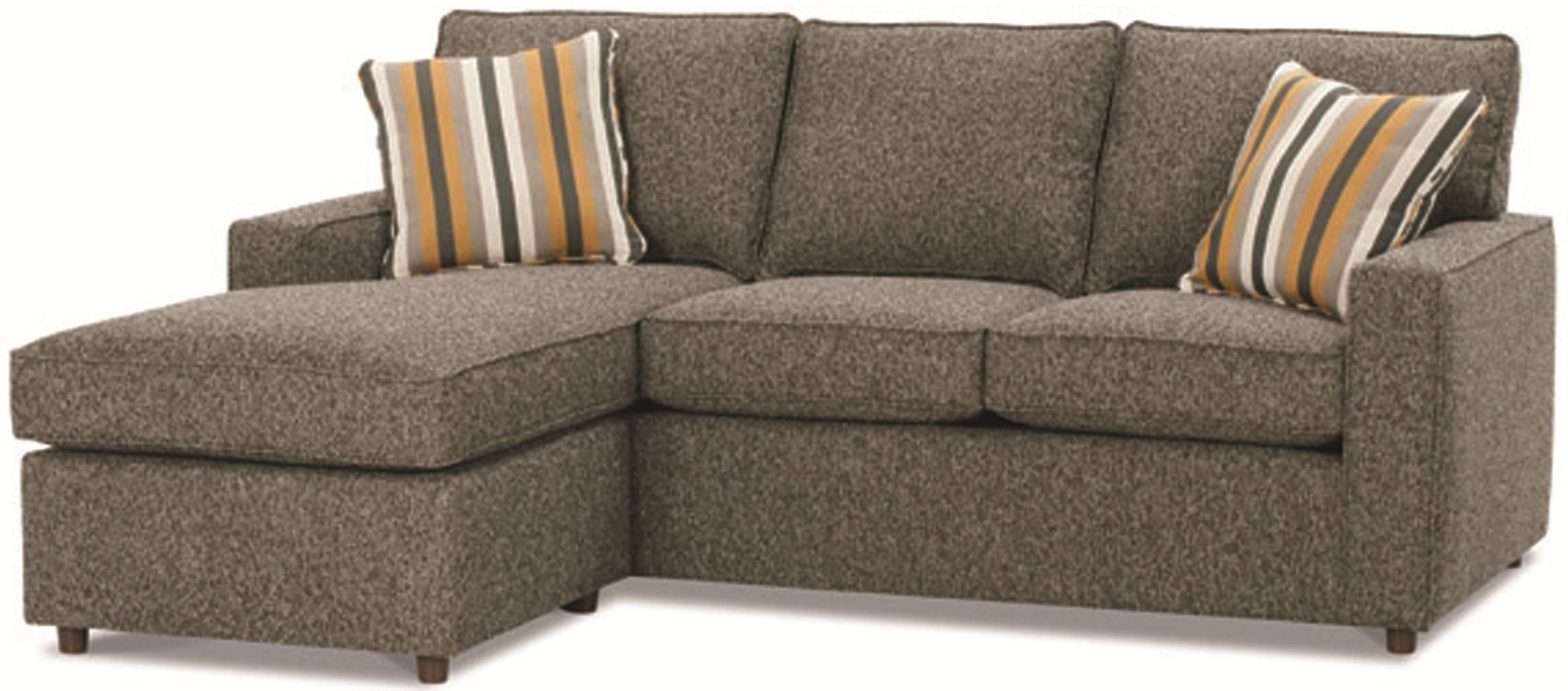 Minneapolis Sectional Sofas Within Recent Monaco Contemporary Sofa With Reversible Chaise Ottomanrowe (View 12 of 20)