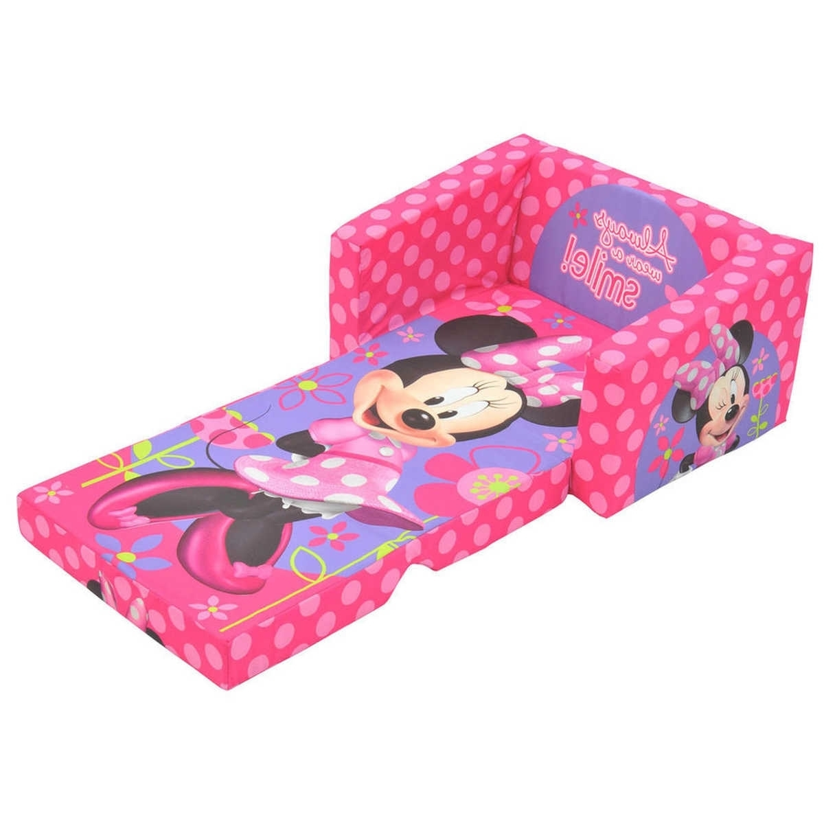 Minnie Mouse Flip Out Sofa Bed • Sofa Bed Pertaining To Latest Flip Out Sofas (View 10 of 20)