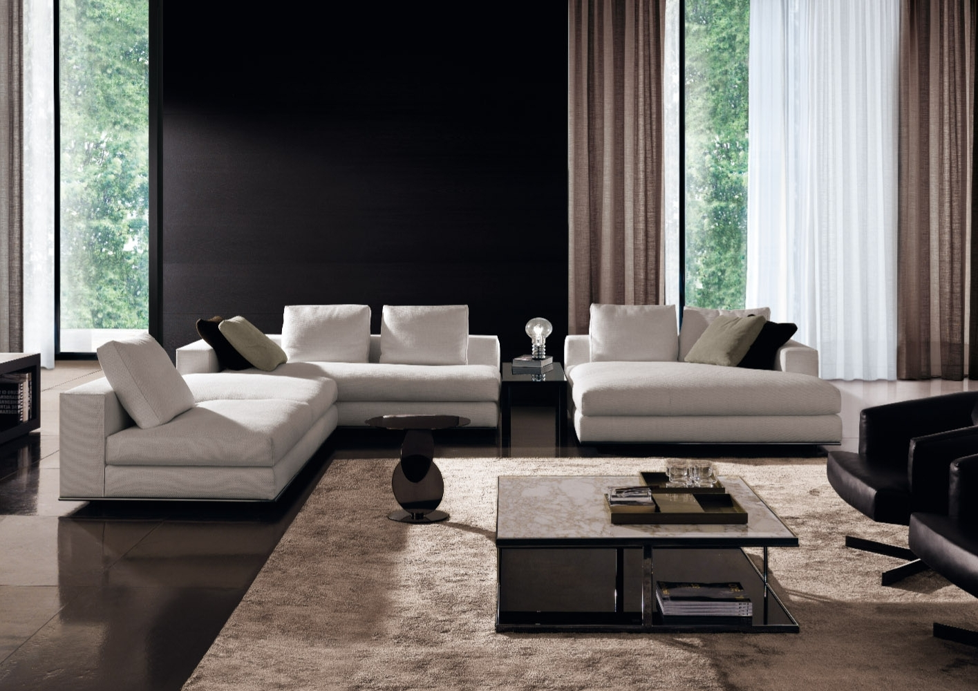 Minotti Quickship Regarding Hamilton Sectional Sofas (View 16 Of 20)
