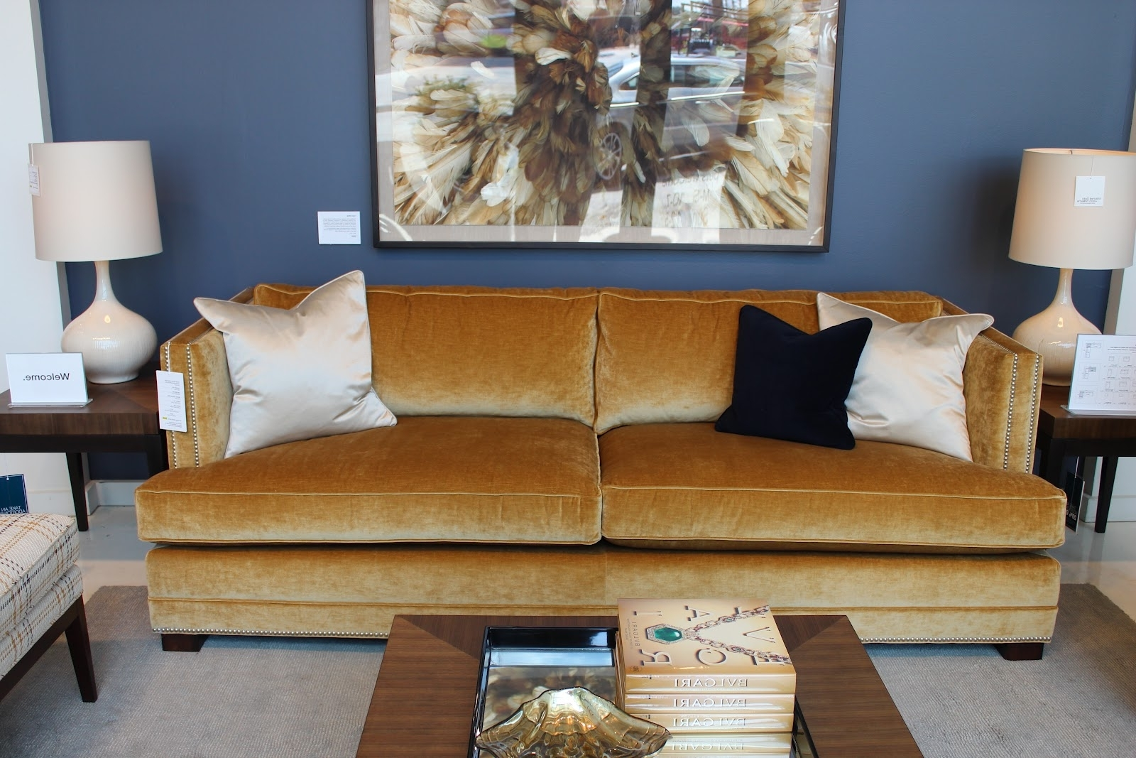 Mitchell Gold – Design Indulgence Regarding Well Known Gold Sectional Sofas (View 5 of 20)