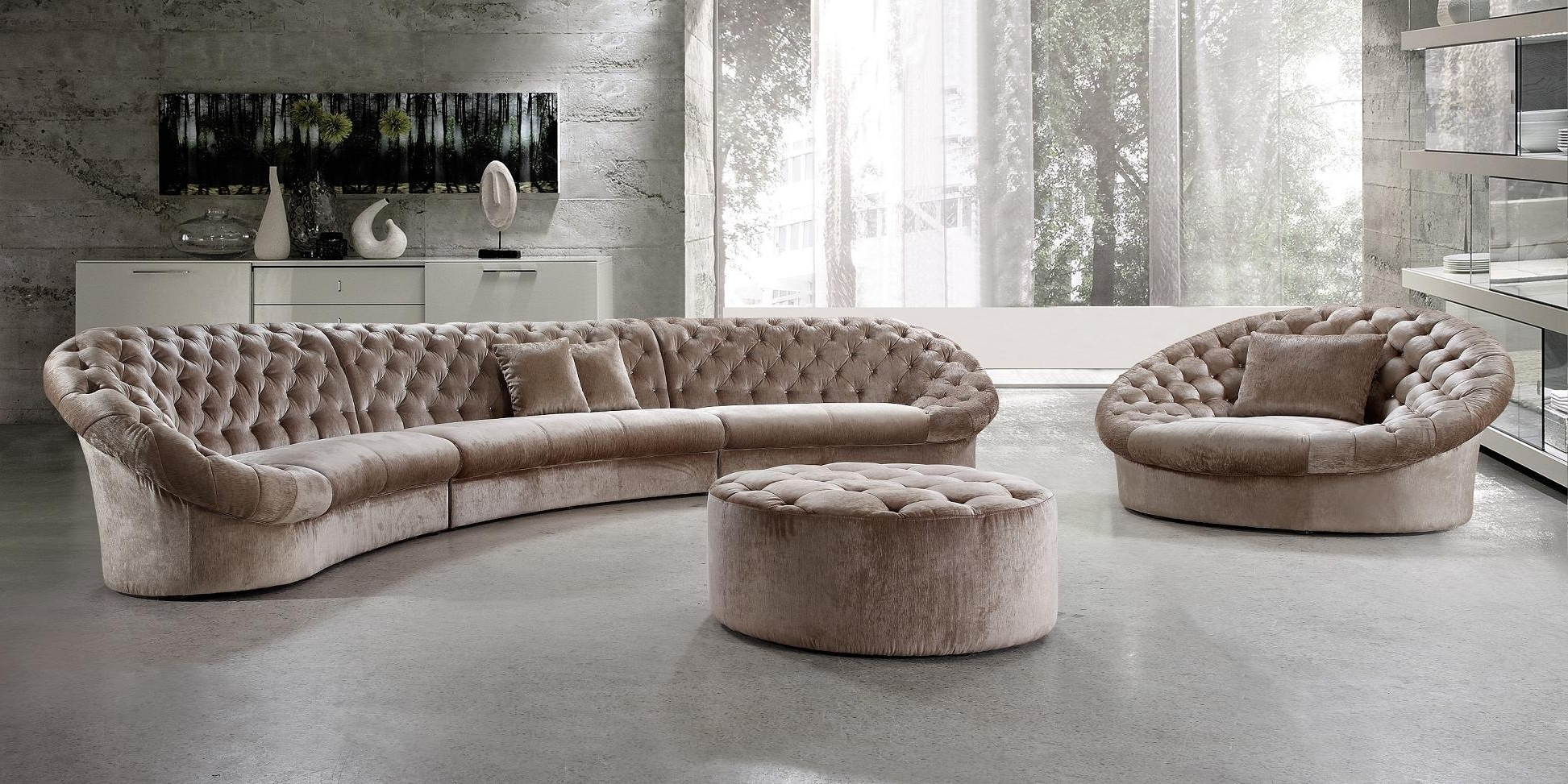 Moc Modern Within Well Liked Rounded Corner Sectional Sofas (View 13 of 20)
