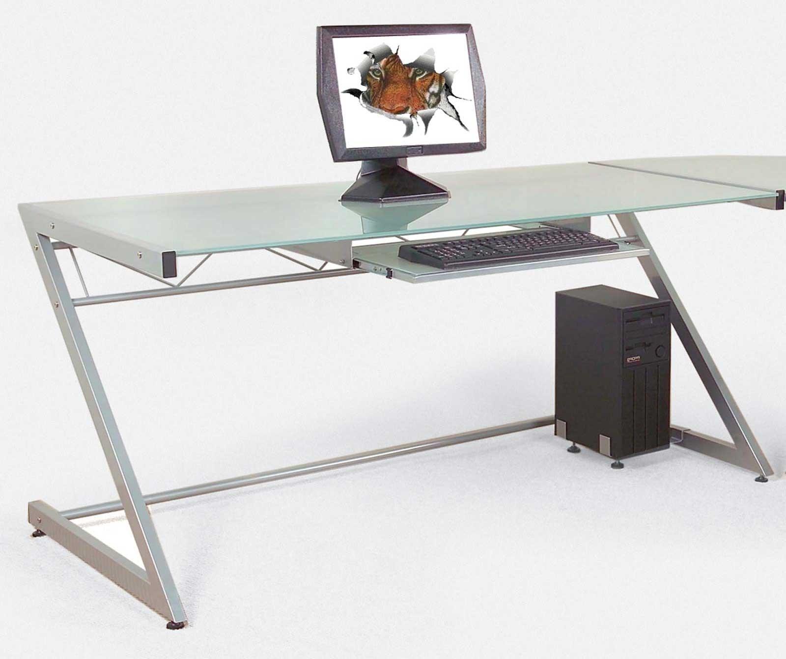 Modern Computer Desks Inside Widely Used Designer Computer Desk Bright And Modern Desks For Home – Surripui (View 20 of 20)