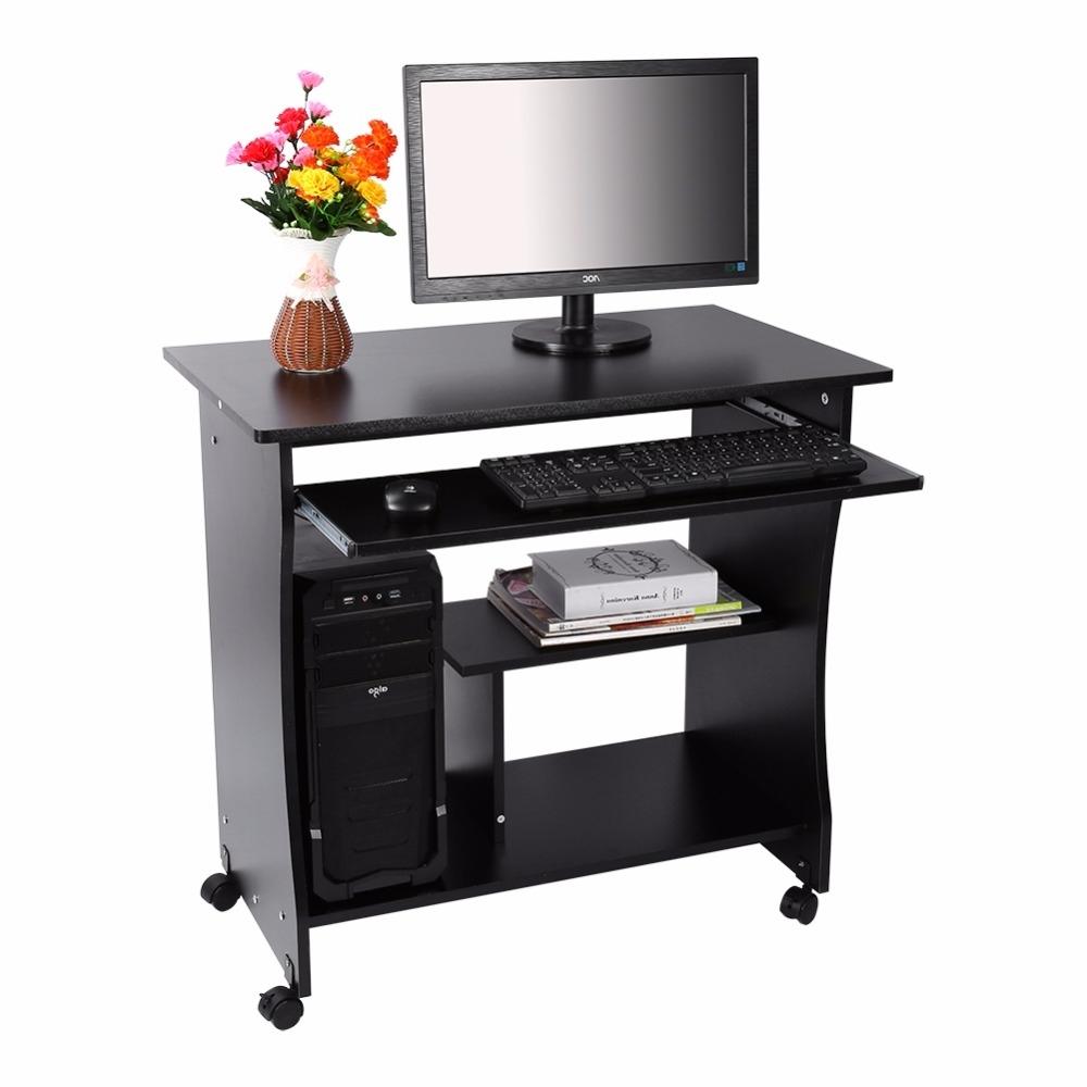 Modern Desktop Computer Desk Student Learning Writing Desk For 2019 Modern Computer Desks (View 10 of 20)