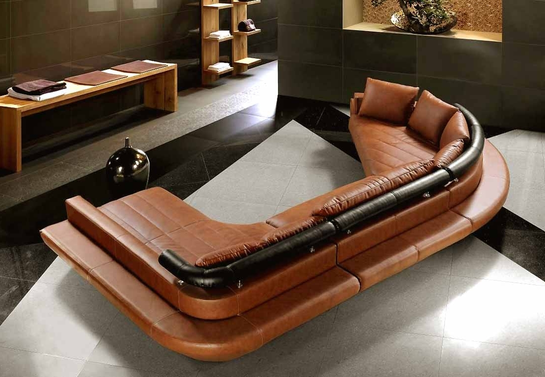 Modern Furniture Leather Sectional Unforgettable Sofa Add Enjoy 7 Pertaining To Most Current U Shaped Leather Sectional Sofas (View 7 of 20)