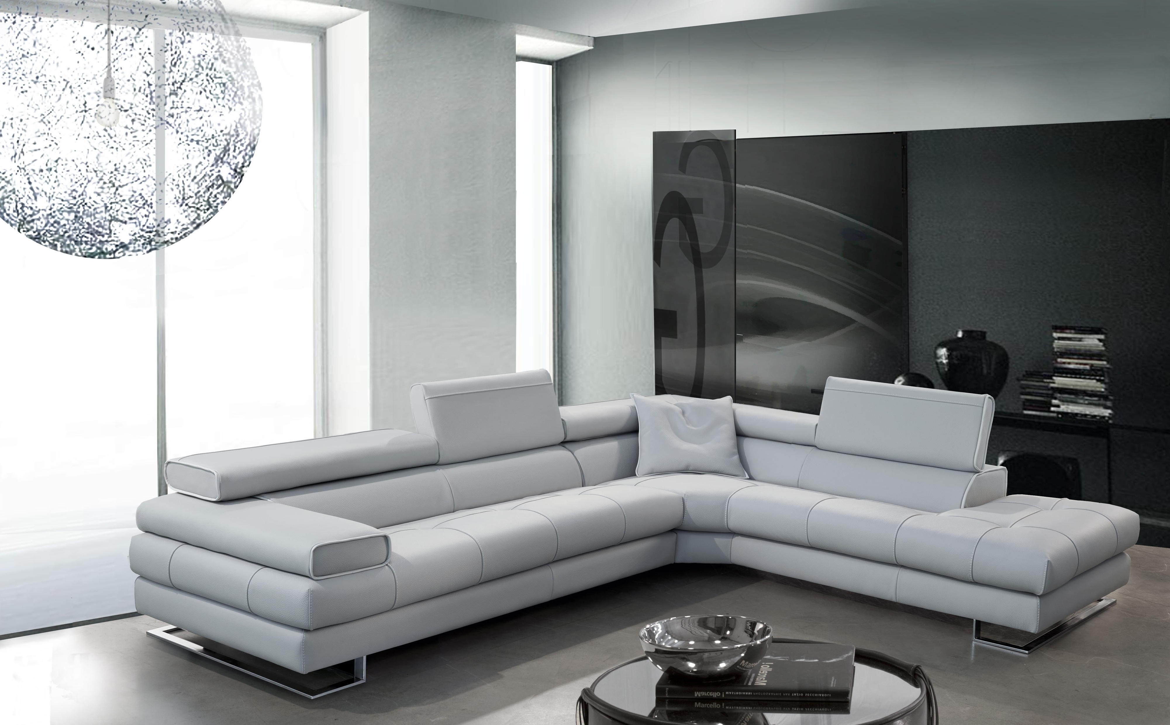 Modern Microfiber Sectional Sofas For Well Known Modern Microfiber Sectional Sofas – Szfpbgj (View 12 of 20)