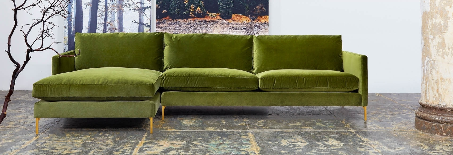 Modern Sectional Sofas For Nyc Apartments At Abc Home With Regard To Well Liked Sectional Sofas In Stock (View 9 of 20)