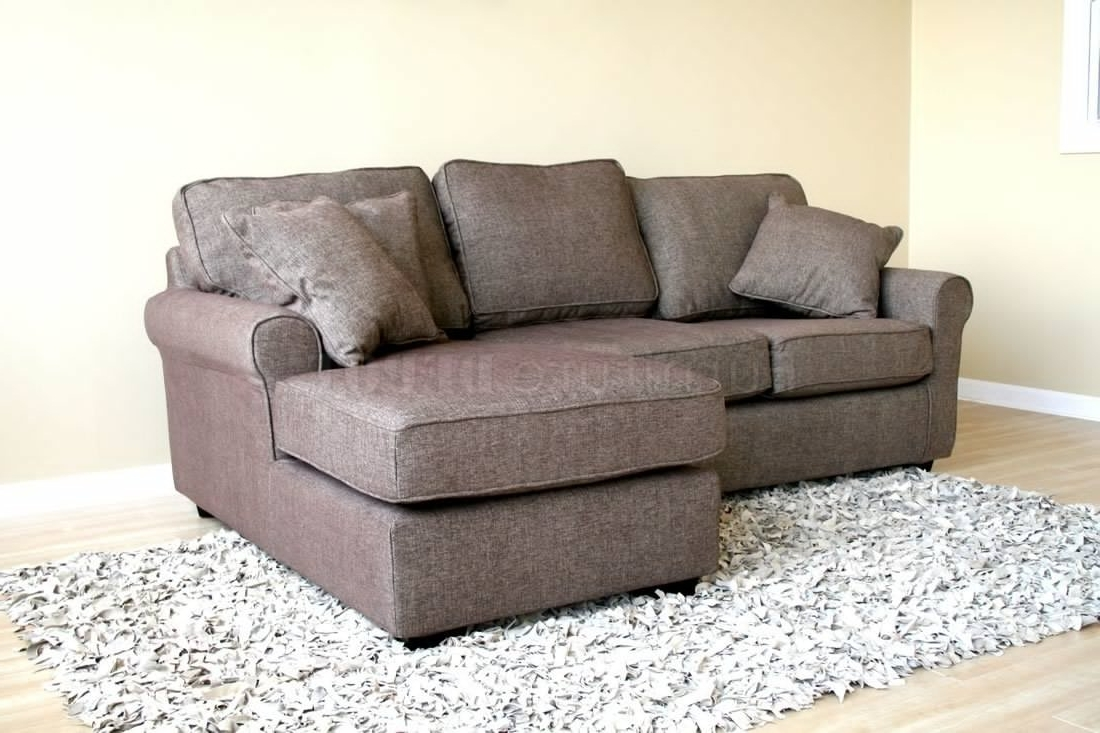 Modern Sectional Sofas For Small Spaces Intended For 2018 Sectional Sofa Design: Small Sectional Sofas For Small Spaces (View 19 of 20)