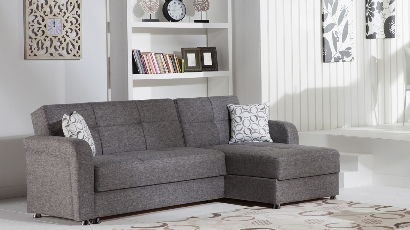 Modern Sectional Sofas For Small Spaces Intended For Most Up To Date Saving Small Spaces Rustic Modern Living Room Spaces With White (View 14 of 20)