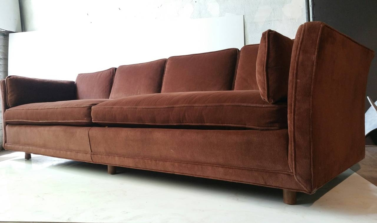 Modernist Four Seater Sofa, Designedharvey Probber At 1Stdibs Pertaining To Recent Four Seater Sofas (View 11 of 20)