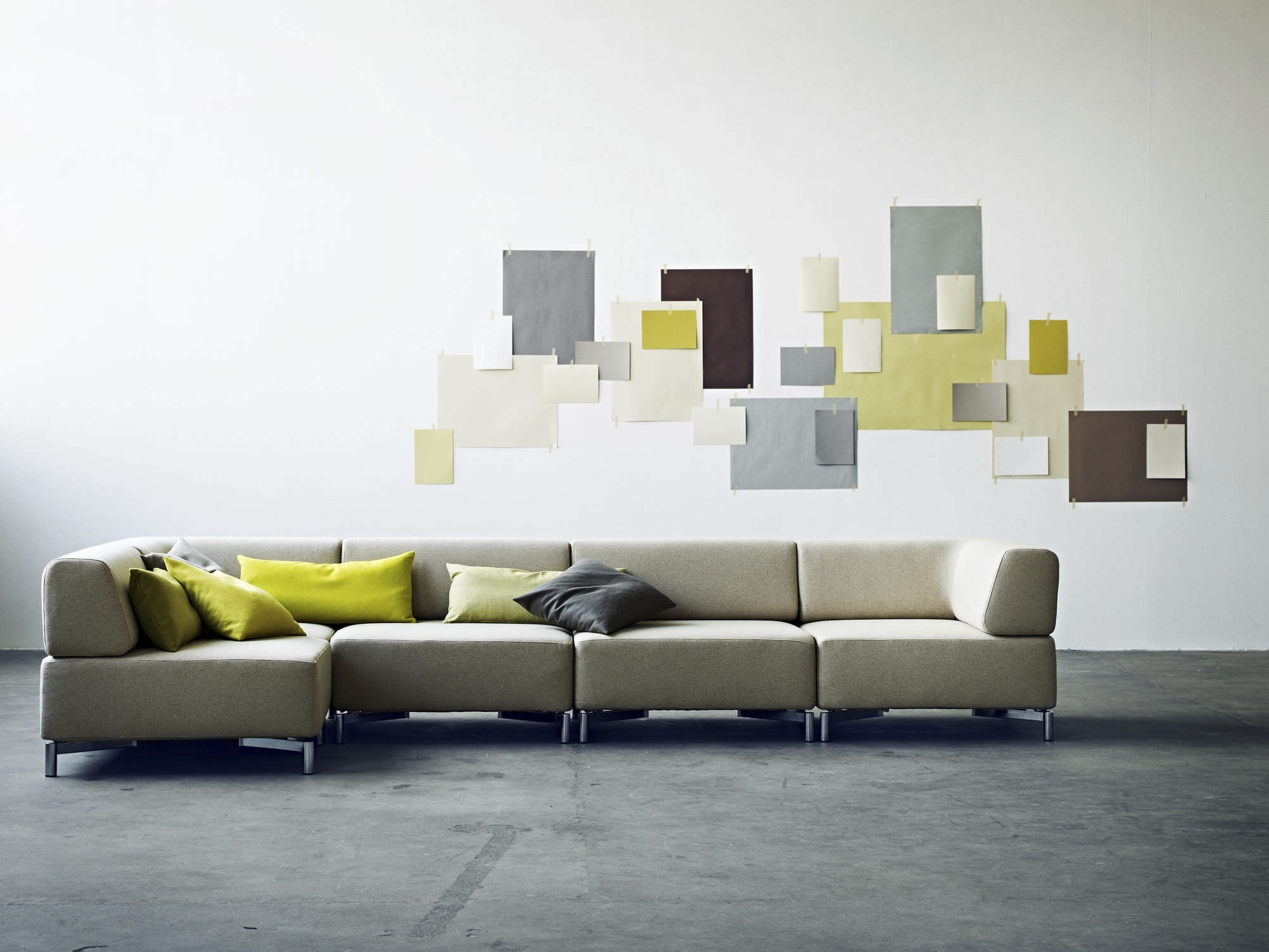 Modular Sofa / Contemporary / Fabric / With Removable Cover Throughout Latest Sofas With Removable Covers (View 5 of 20)