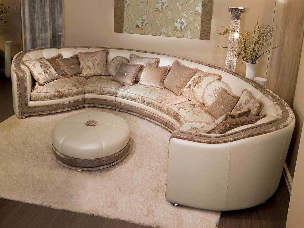 Modular Sofa / Semicircular / Classic / Fabric – Venere – Pigoli For Most Current Semicircular Sofas (View 8 of 20)