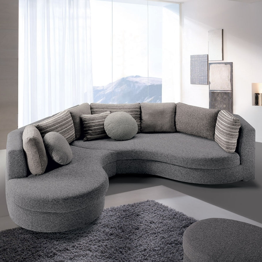 Modular Sofa / Semicircular / Contemporary / Fabric – Felis Style Throughout 2019 Semicircular Sofas (View 9 of 20)