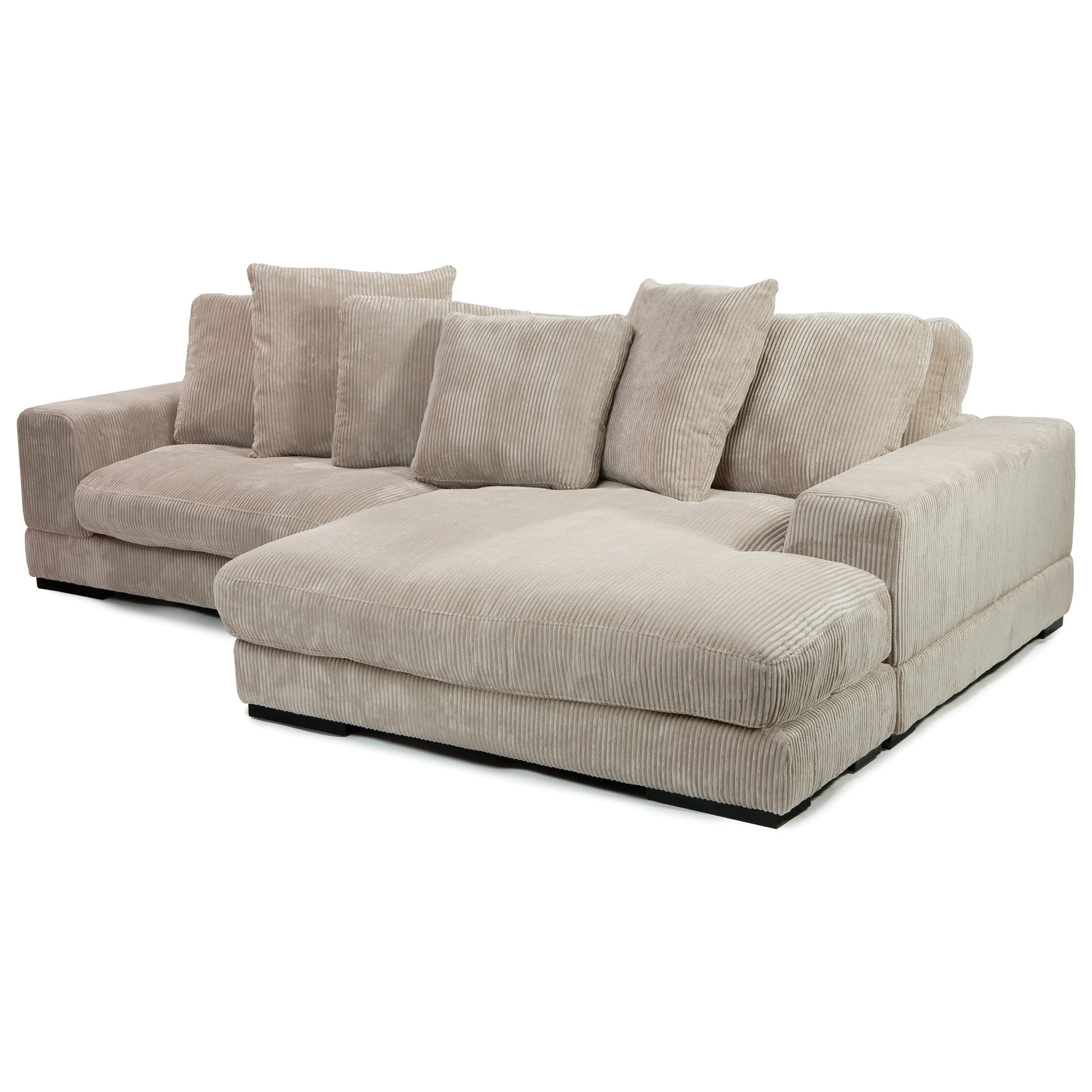 Moe's Home Collection Plunge Sectional With Flip Style Chaise With Regard To Most Up To Date Niagara Sectional Sofas (Gallery 10 of 20)