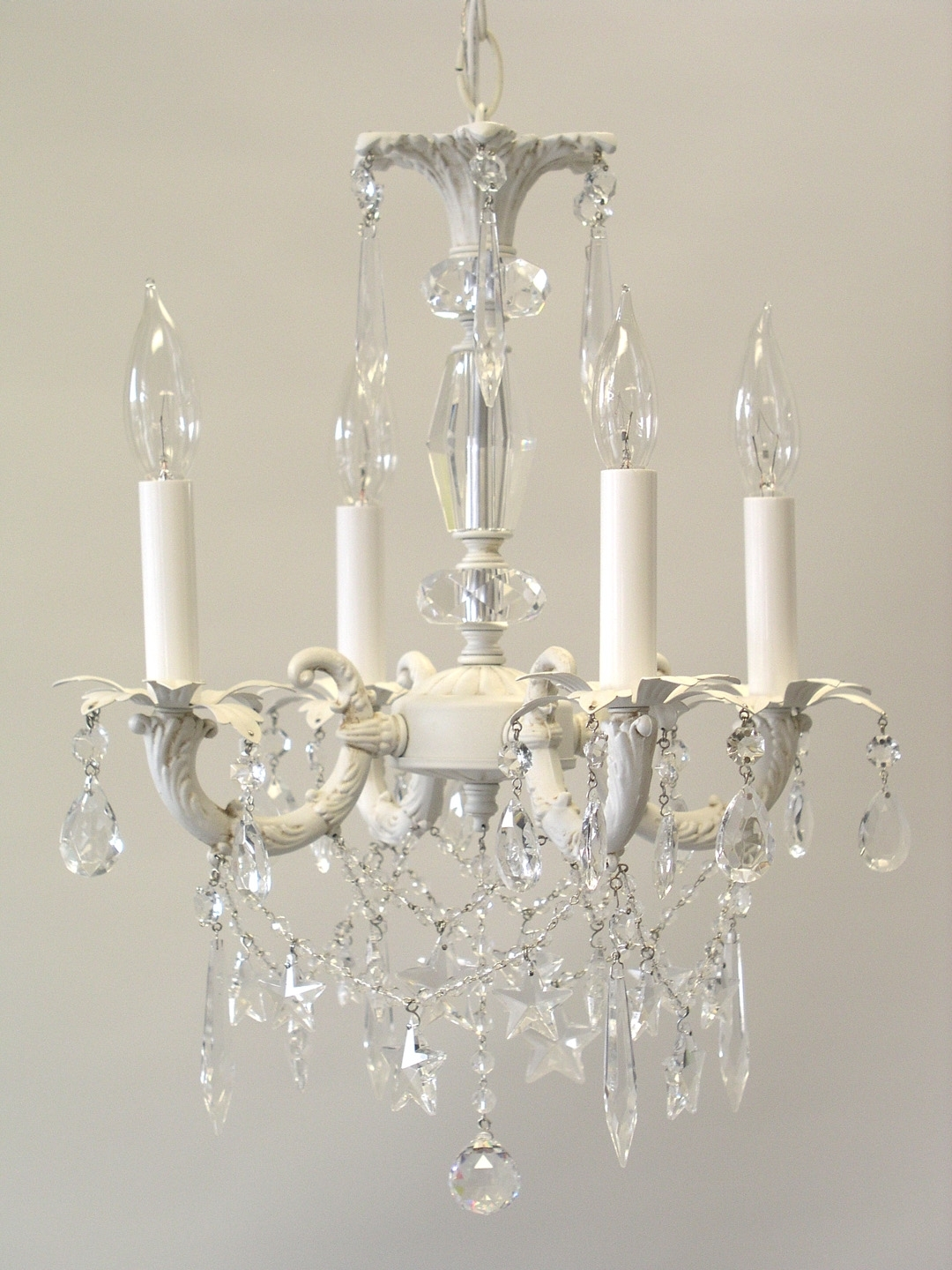 More Shabby Chic Style Chandeliers Throughout Latest Small Shabby Chic Chandelier (View 5 of 20)