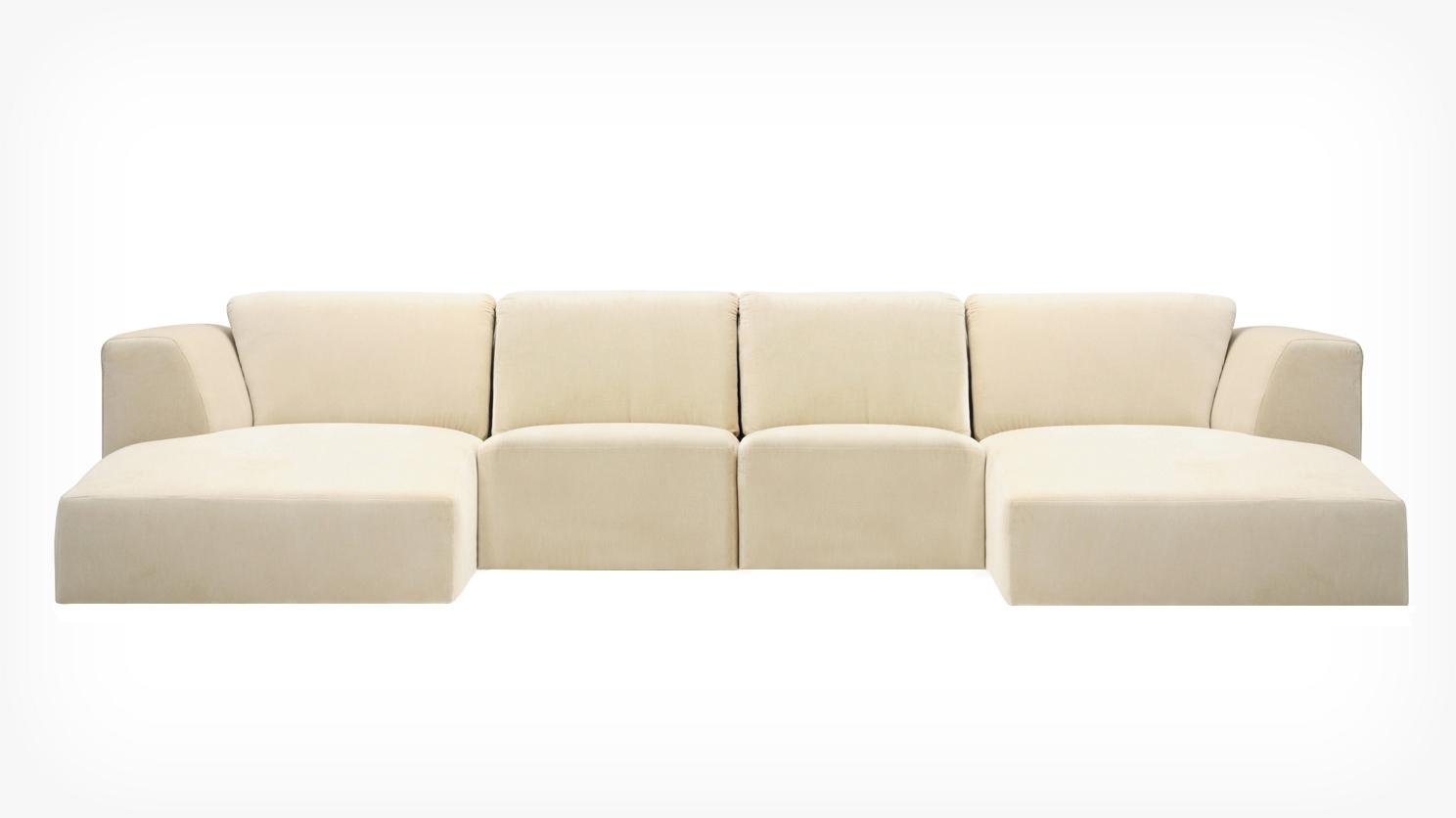 Morten 4 Piece Sectional Sofa With Chaise – Fabric (View 9 of 20)