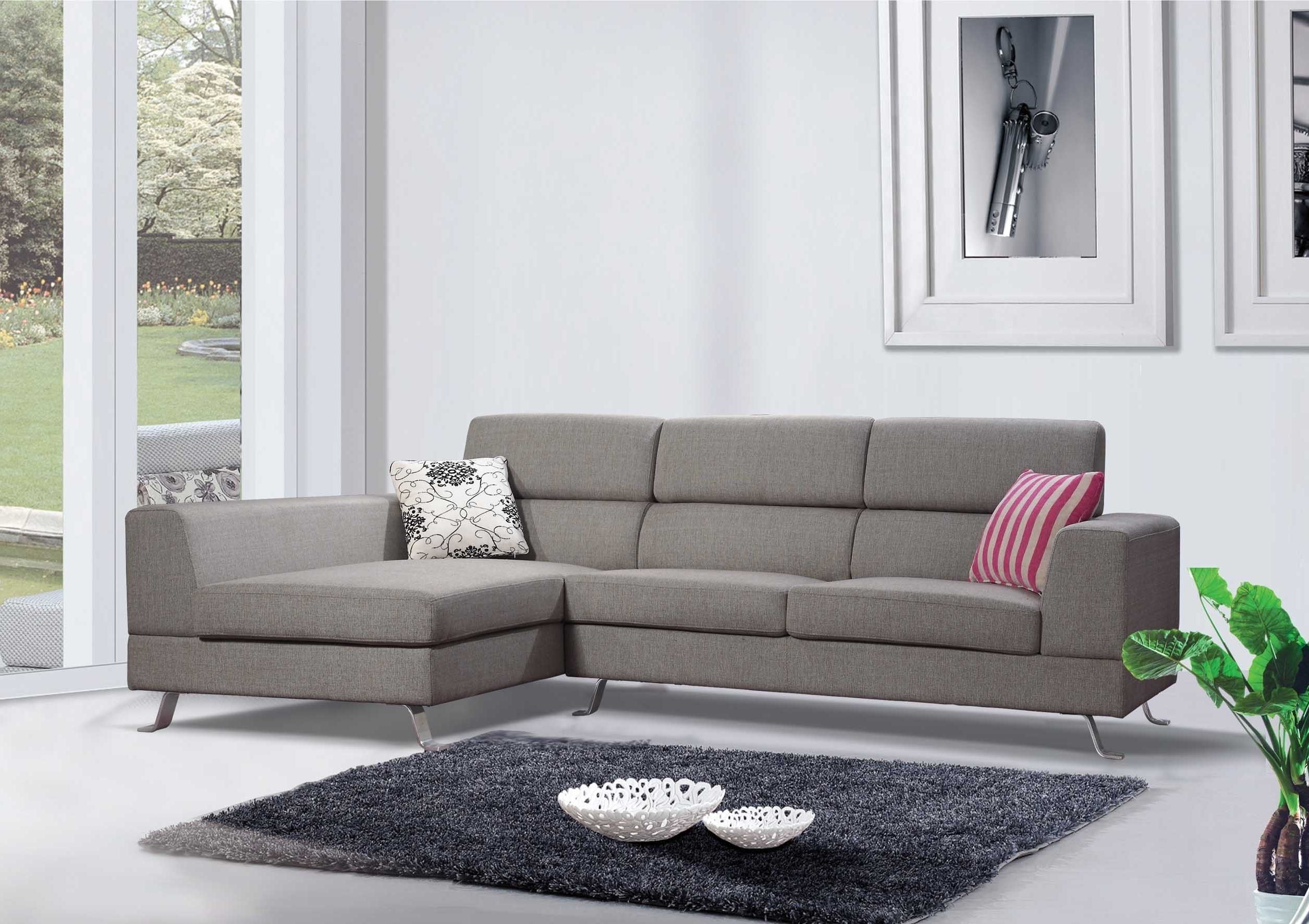 Most Current 100x80 Sectional Sofas With Furniture : Microfiber Costco Sectional Sofa Furnitures (View 15 of 20)