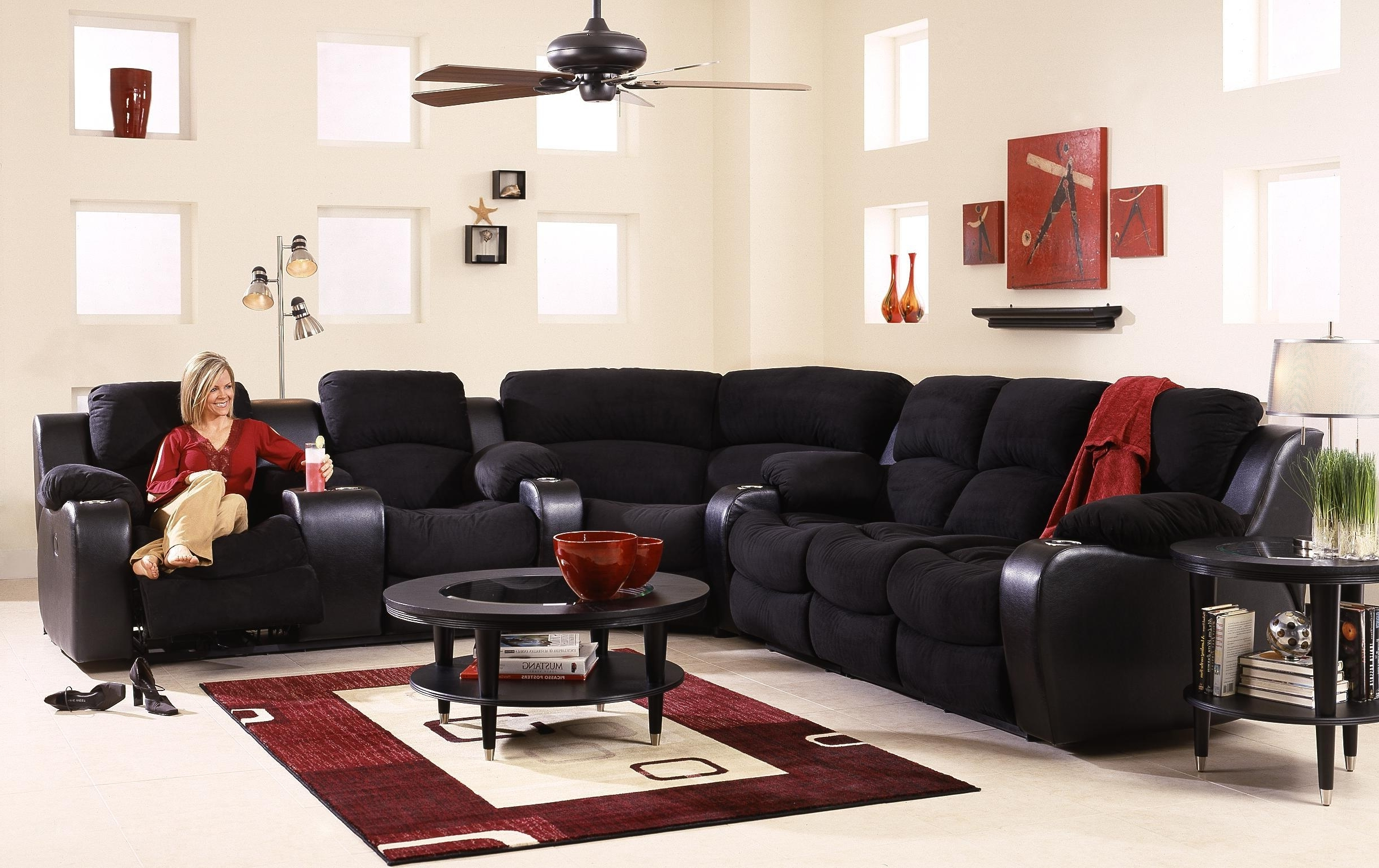 Most Current Awesome Sectional Sofas With Cup Holders Unique – Tatsuyoru Regarding Grand Furniture Sectional Sofas (View 11 of 20)