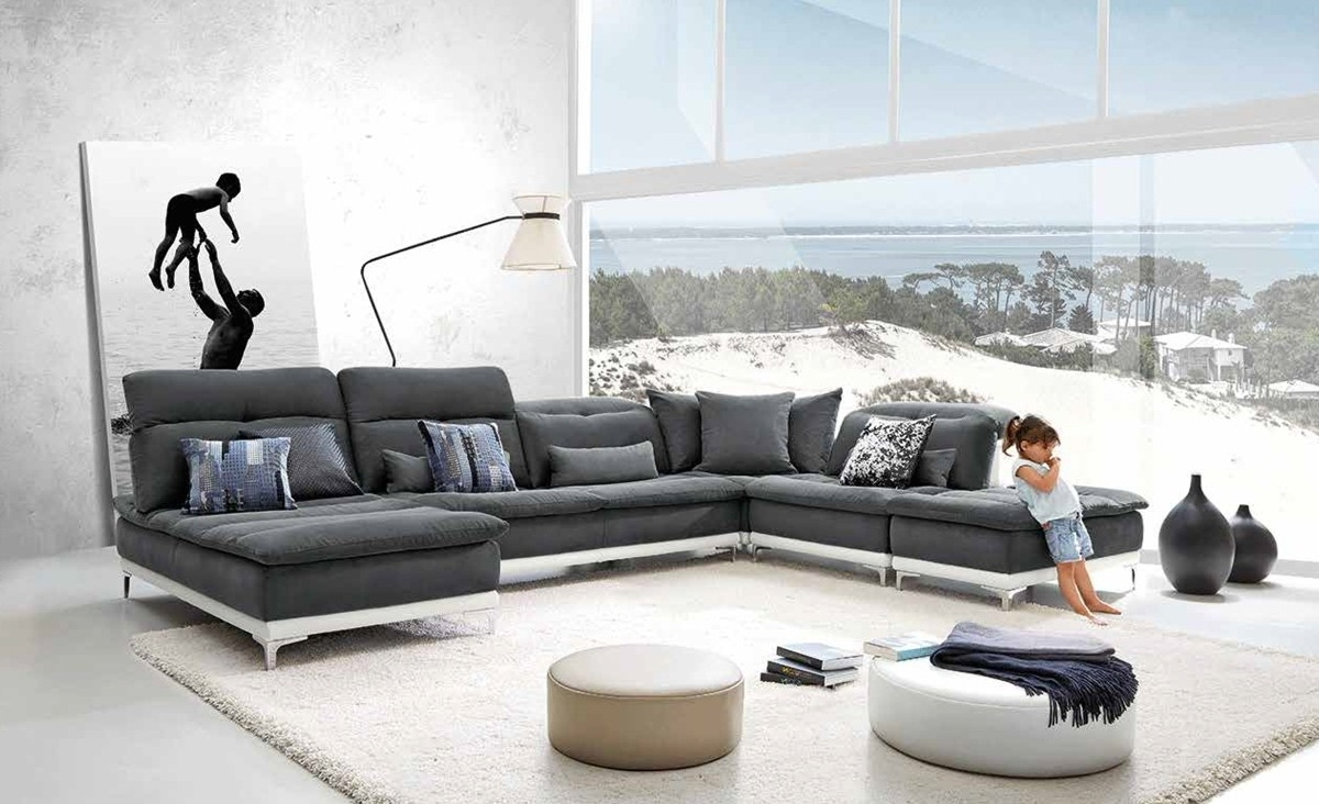 Most Current Best Modern Sectional Sofa — Cabinets, Beds, Sofas And With Modern Sectional Sofas (View 9 of 20)