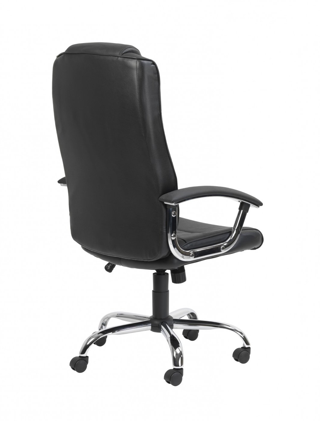 Most Current Black Leather Faced Executive Office Chairs Throughout Executive Chair Aoc4201a L (View 18 of 20)