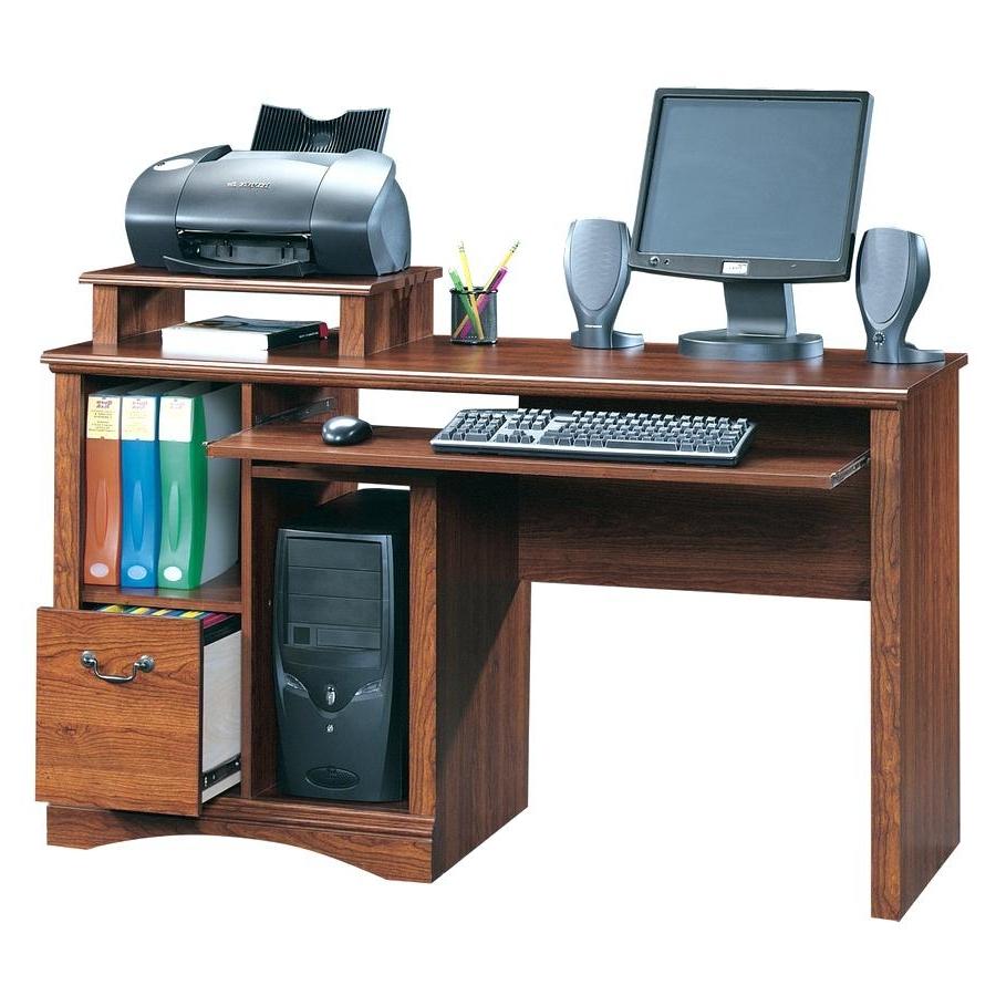 Most Current Computer Desks : Computer Desk Enclosed Furniture Desks For Home Intended For Enclosed Computer Desks (View 15 of 20)
