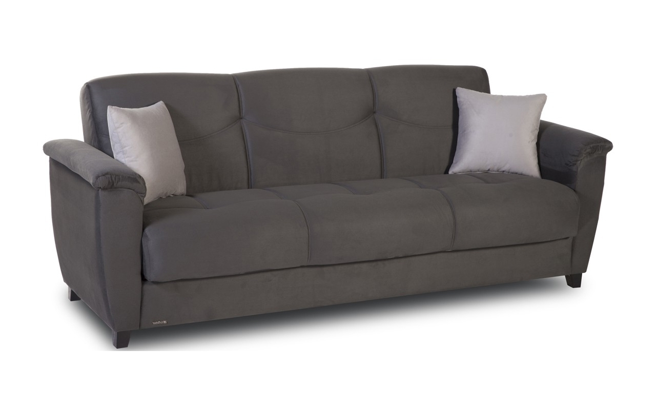 Most Current Convertible Sofas For Convertible Sofas :: Aspen Convertible Sofa With Storage (View 13 of 20)