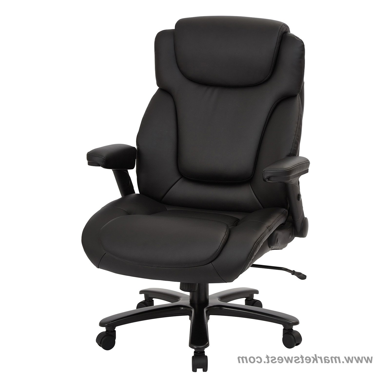 Most Current Executive Office Chairs Without Arms Pertaining To Big And Tall High Back Executive Office Chairs • Office Chairs (View 20 of 20)