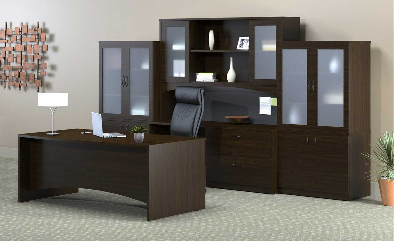 Most Current Executive Office Table And Chairs Within Home Decor: Tempting Executive Office Furniture With Luxury Wood (View 14 of 20)