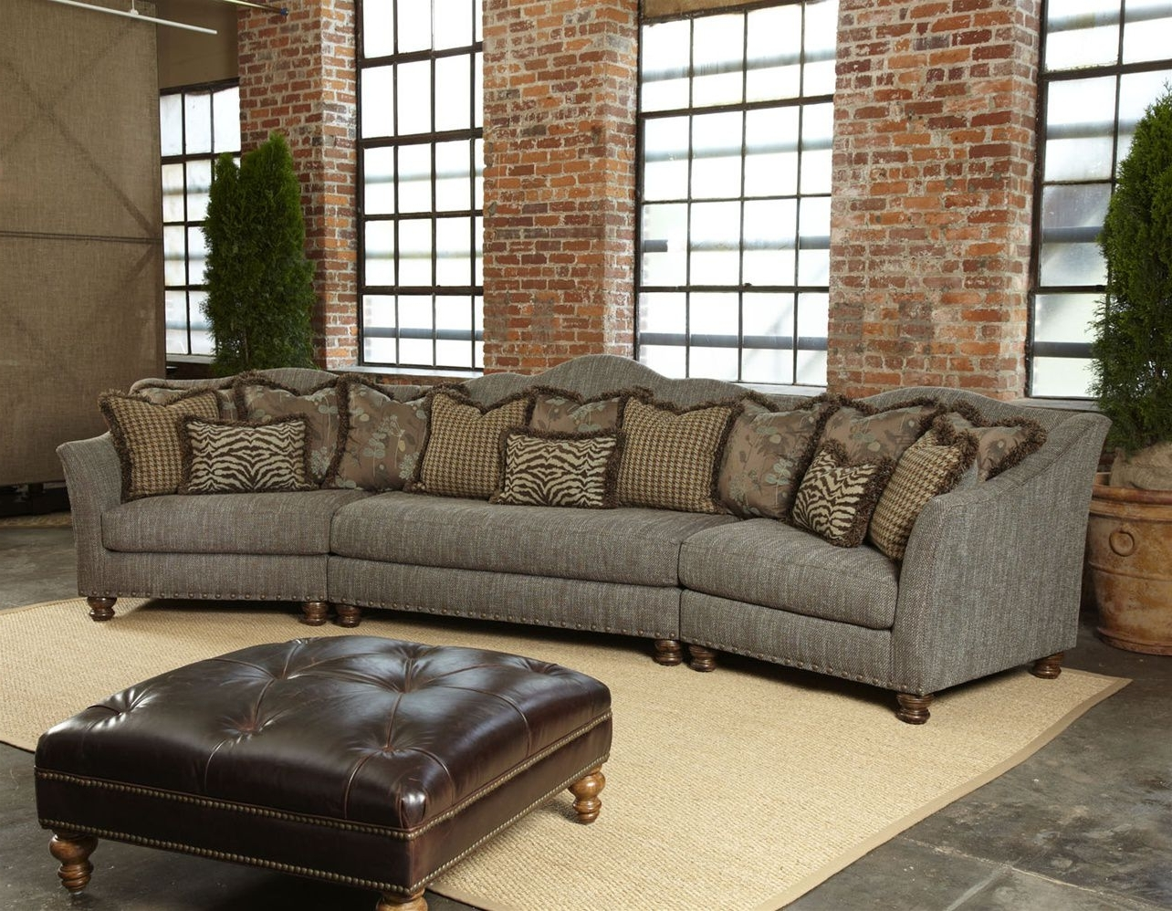 Most Current High End Sectional Sofas With Regard To Best Shaped Leather Sofa With Red Reclining Together Mid Century (View 10 of 20)