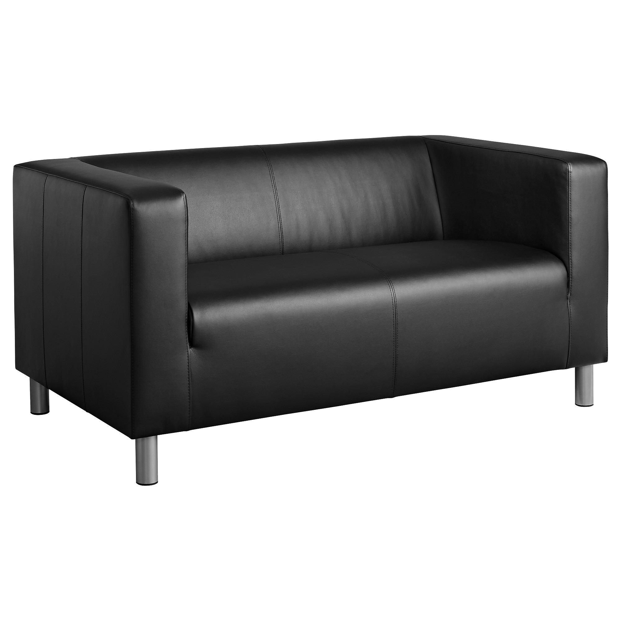Most Current Klippan Compact 2 Seat Sofa Kimstad Black – Ikea With Black 2 Seater Sofas (Gallery 6 of 20)