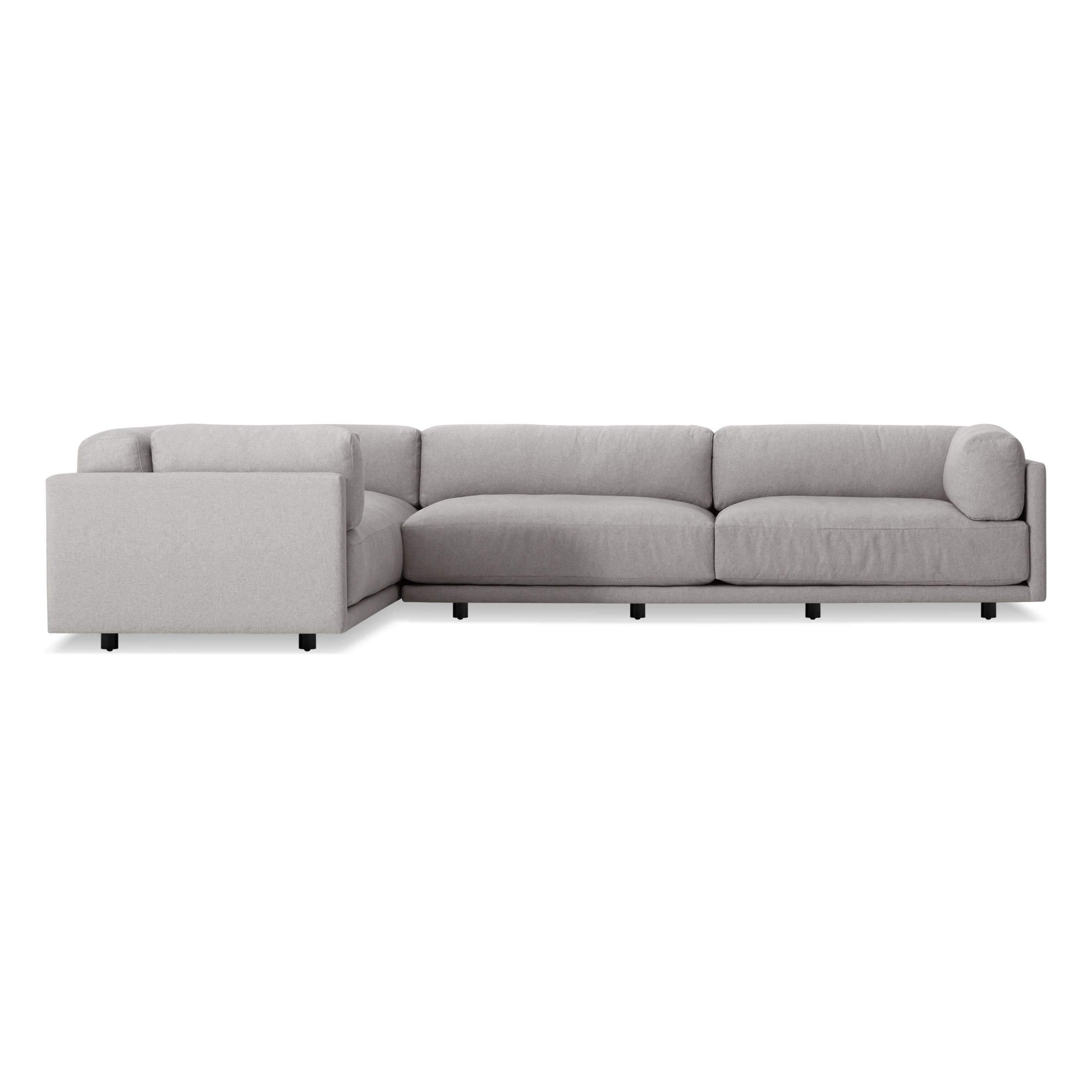 Most Current L Shaped Sofas For Sunday L Sectional Sofa – Modern L Shaped Sofa (View 16 of 20)