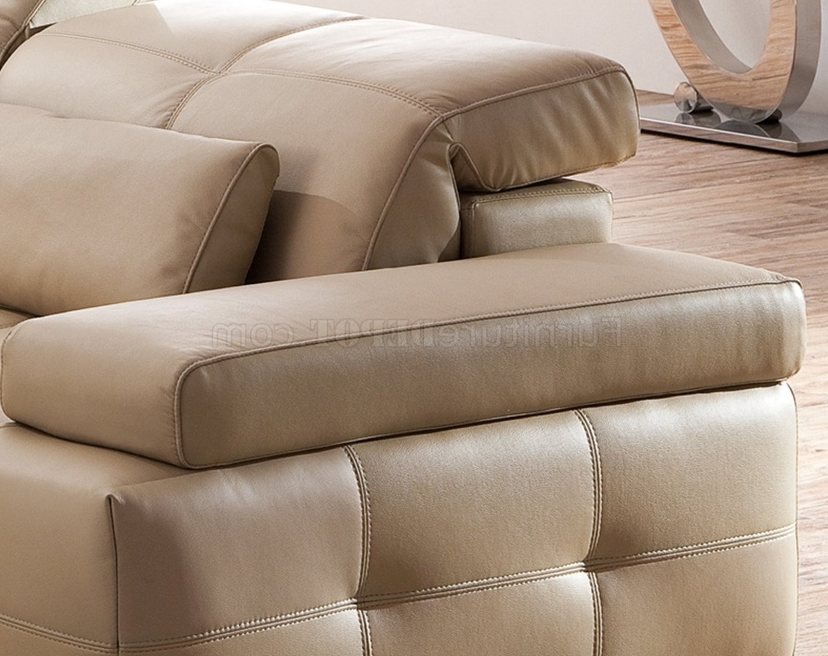 Most Current Light Colored Leather Sofas – Hereo Sofa Intended For Light Tan Leather Sofas (View 13 of 20)