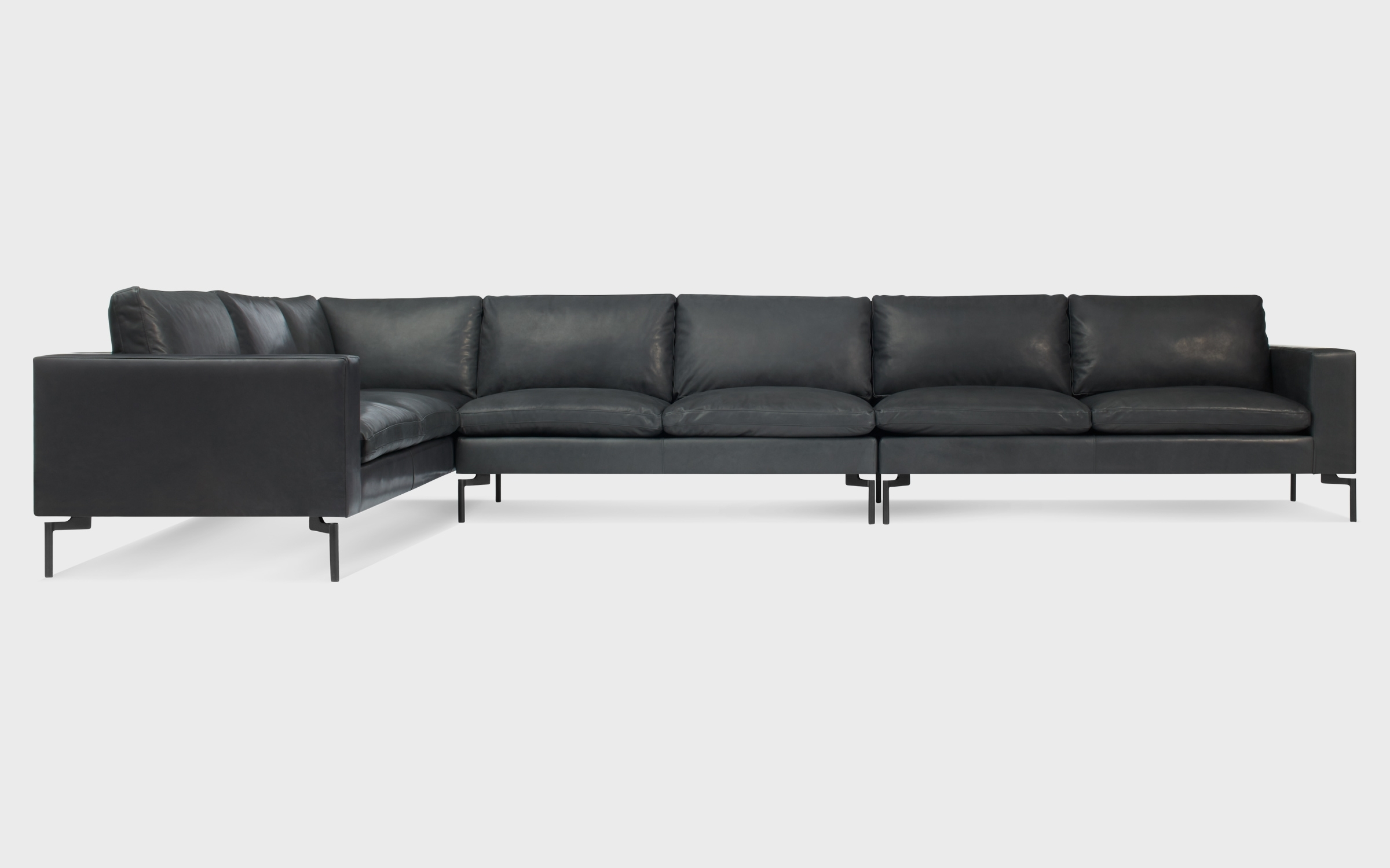 Most Current Made In North Carolina Sectional Sofas Throughout New Standard Large Leather Right Sectional Sofa (View 15 of 20)